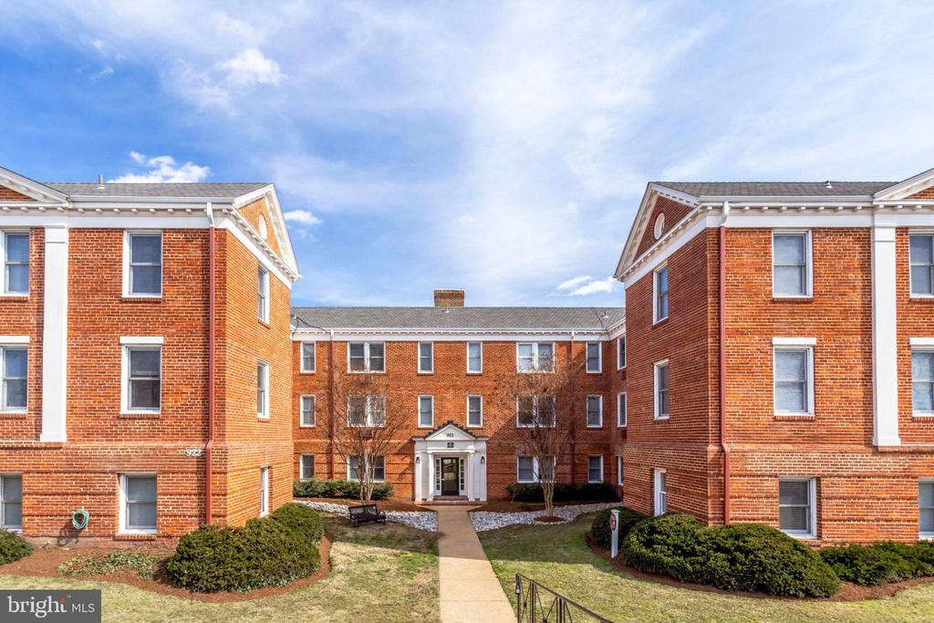 Do not miss this rarely-available and extremely spacious 2 bedroom, 2 bath condo in the heart of Old Town Alexandria is just minutes from National Landing and Amazon HQ2! The stately Boulevard (formerly Bearings South Condominium) is surrounded by convenience, dining, entertainment, and public transportation. Recent updates include remodeled bathrooms and an updated kitchen with stainless steel appliances, a new tile back splash, and and fine counter tops. Two convenient and dedicated parking spaces are included. Enjoy all that Old Town has to offer!