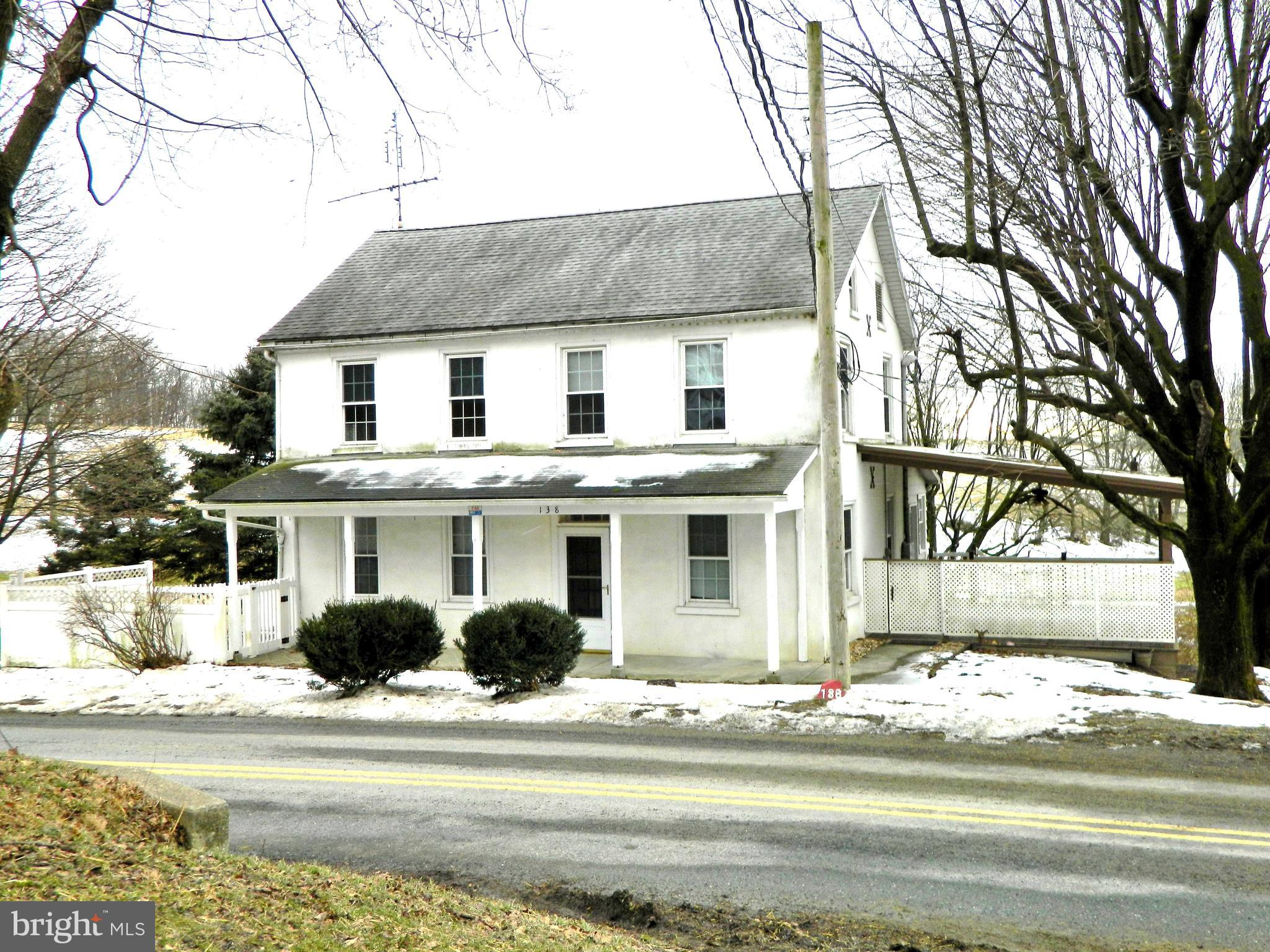 138 OBYLE ROAD, LENHARTSVILLE, PA 19534