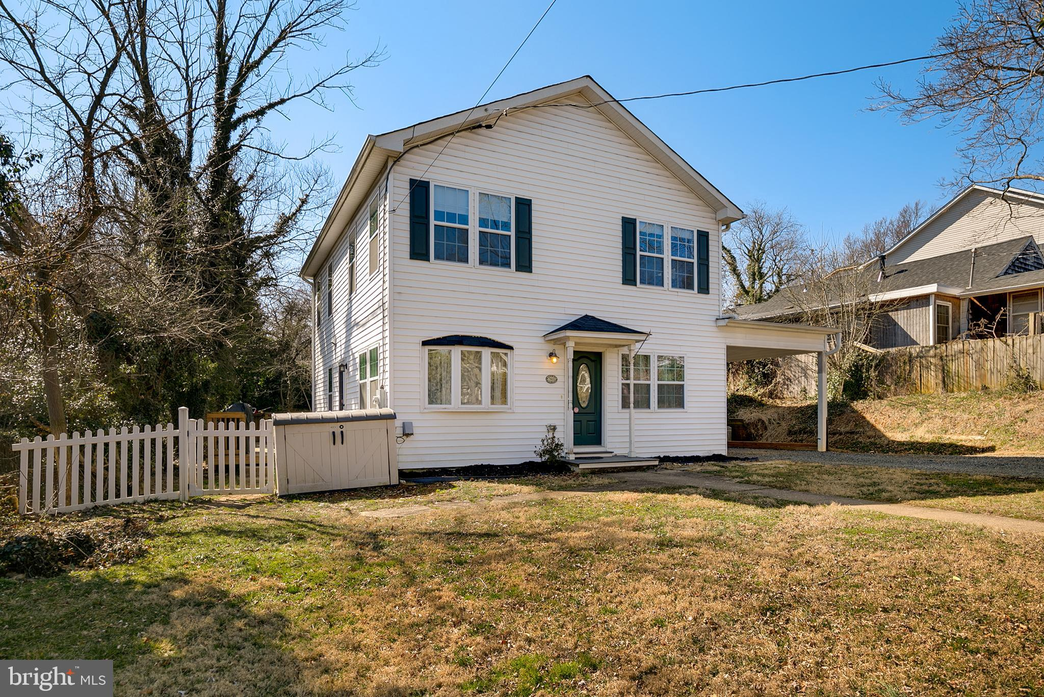 Unique Farm House with 6  bedrooms and 4 bathrooms in the middle of Falls Church. Entering the home you can see and feel the complete open concept of this newly improved home. The main level has appealing hardwood floors throughout as well as attractive crown moldings and ample recessed lighting. The sunfilled kitchen features modern stainless steel appliances, traditional cabinetry, sparkling granite countertops, and eat-in space. The cozy family room is perfect for entertaining.  The master bedroom is on the main level complete with en suite bathroom as well another bedroom and complete updated modern bathroom. Upstairs there are 4 additional roomy bedrooms and 2 more full bathrooms. You will always have enough bathrooms in this home. The home is complete with a white picket fence. This home is also located within 5 minutes of 2 metro stations. Conviently located to athletic fields as well. Not to mention there are many shopping and dining options nearby. There have been tons of improvements done in this home. Please come see for yourself.