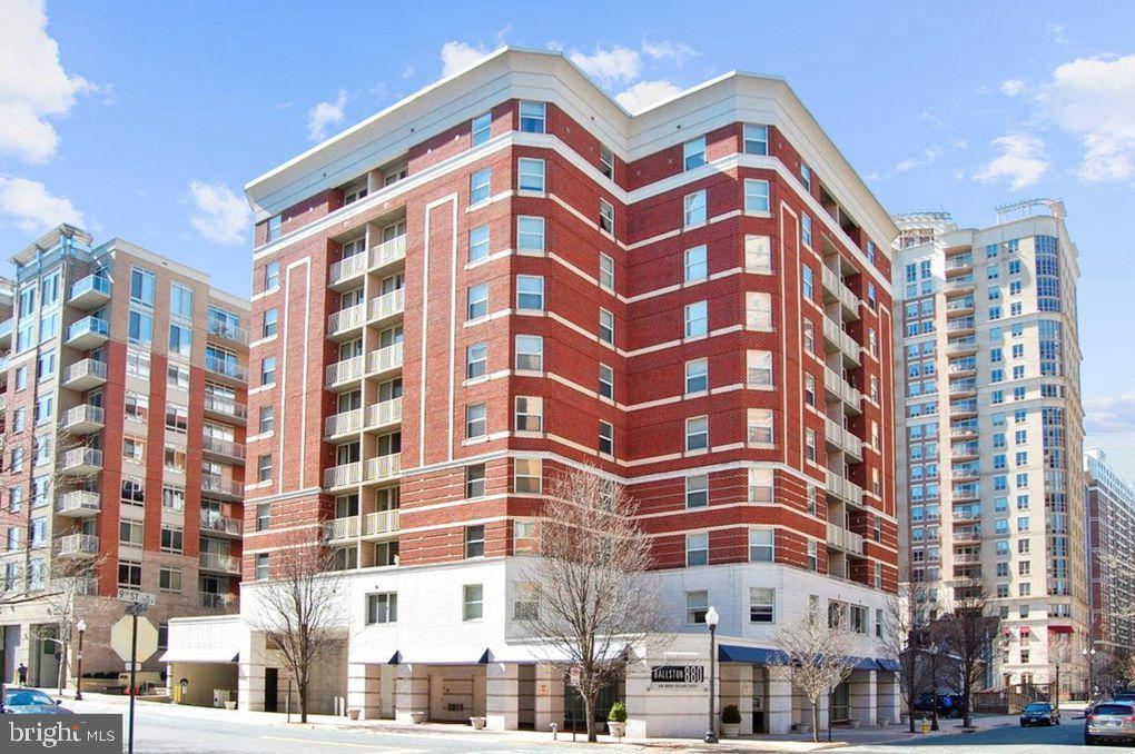 Come enjoy Ballston Living, this condo unit is located very close to two metro stops.  This beautifully renovated 2 Bedroom and 2 Bath Condo has all the features you are looking for in this area. The kitchen has been updated and opened up. The flooring in the unit has been completely upgraded.  The Main bedroom has a spacious closet and bathroom. The building features a  fitness center, outdoor pool  and massive a theater room. The common area's also include a lounge with an fireplace, a business center with conference room perfect for working from home.