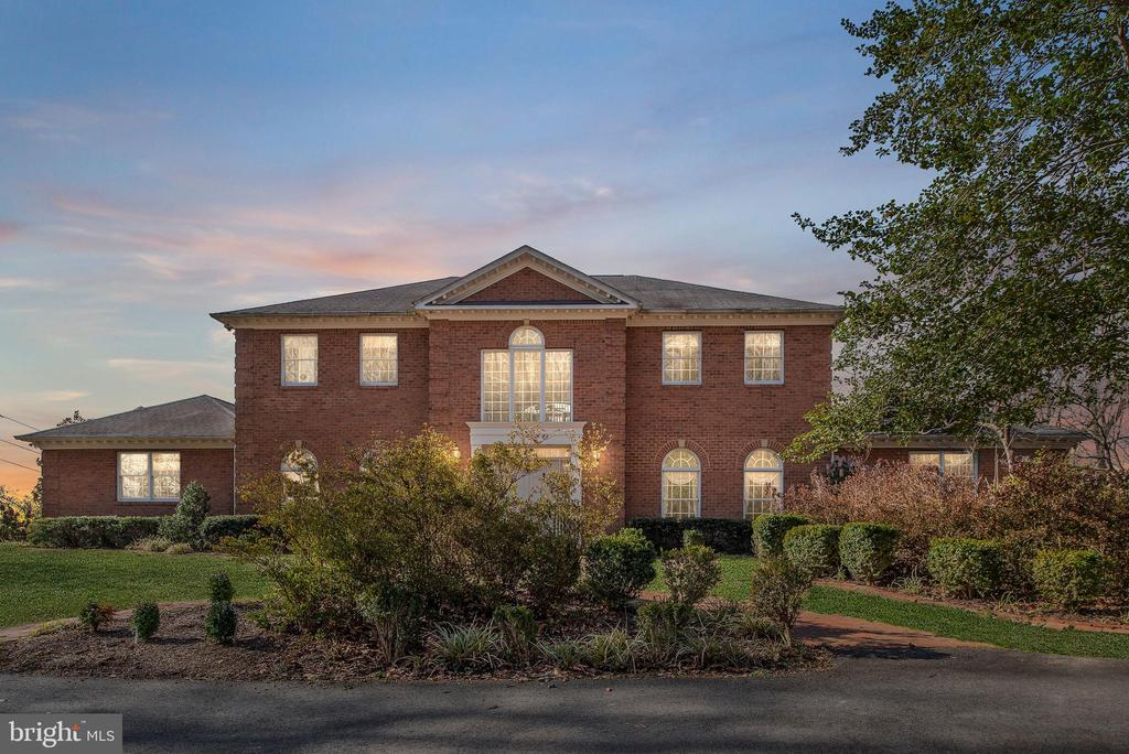OPEN HOUSE MARCH 30, 2019. This unique Rappahannock River property has watched history unfold over the last 200 years on the foothills of this historic river. With over 5000' of living space, 104 Blaisdell was built in 1990 and is one of the most exquisite estate properties on the banks of the Rappahannock. At the base of the river, just below the Blaisdell Estate, are the remains of The Embrey Dam, constructed in the 1800's until meeting its demise in 2004. With some of the remnants still in place, this area of the Rappahannock is known as the John W. Warner Rapids. Senator Warner successfully secured $10,000,000 for the removal of the Embrey Dam at no cost to the local governments. Forever a place in history, Blaisdell has the benefit of amazing views of the Rappahannock River from atop of this unique estate home site. Just a mile from I-95 and Downtown Fredericksburg, the all brick custom home is nestled on 3 wooded acres and located on a completely paved and private entry. The two story foyer over looking the river welcomes you into a home designed for easy living. The first floor is centered around a huge all brick rear patio, allowing you to take advantage of breathtaking views. The original owner and builder designed the home with all of the best in mind. Anderson Windows, over sized trim, solid door trim with rosettes, colonial doors, imported Italian tile and hardwood floors, and Corian Counters, accent this well built home. There are separate living areas perfect for relaxing or entertaining a large group. All of the 5 bedrooms are accompanied by direct access to bathrooms. The first floor master's suite boasts amazing water views and encompasses a quiet side wing of the home with access to the patio. In addition to the well designed living area, Blaisdell has over 2400' of basement with two large attached garage spaces. This huge space is currently used for a shop, craft room, and exercise area, with room to spare. Looking for that extra space for garage 