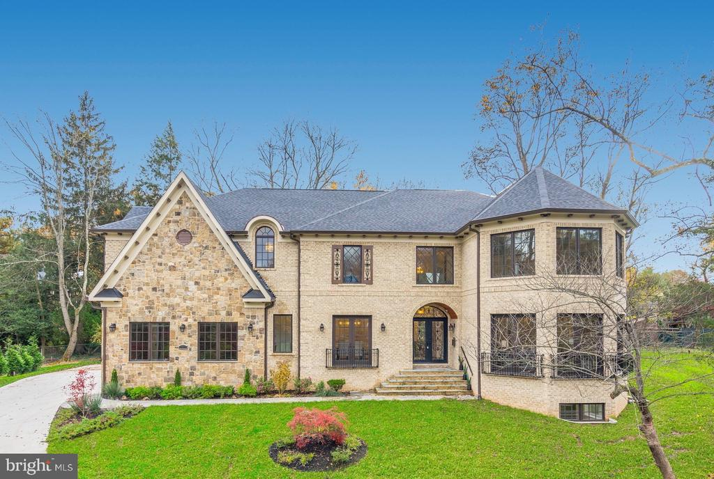 Open house Sunday 2-4.  Elegant New stone and brick construction on a beautiful cul-de-sac in Salona Village.   Entering the stunning foyer, you are immediately impressed with the unique Rotunda.  The handcrafted iron railings set apart the spaces along with premium light fixtures.   The gorgeous hardwood floors highlight a floor plan that is unique and open, providing the perfect setting for comfortable living as well as grand entertaining.  Coffered ceilings and mood lighting are coupled with the finest of millwork.  The gourmet kitchen is stunning, with top of the line appliances including a charging station in the large center island.  The home features 6 en-suite bedrooms and 6.5 baths.  The master suite has a double-sided fireplace and is a show-stopper with a master bath and master closet that are nothing short of amazing.  The lower level has a beautiful bar, wine cellar, fitness room/theater.  The home features extensive video security.  Saturn Partnership has delivered a home that is nothing short of amazing in every way.