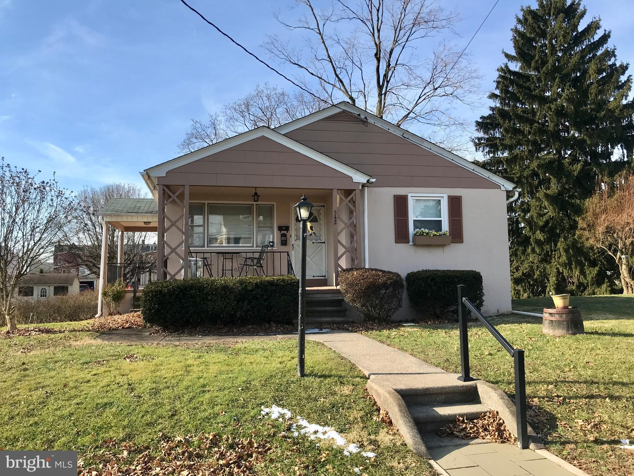 542 WASHINGTON STREET, EAST GREENVILLE, PA 18041