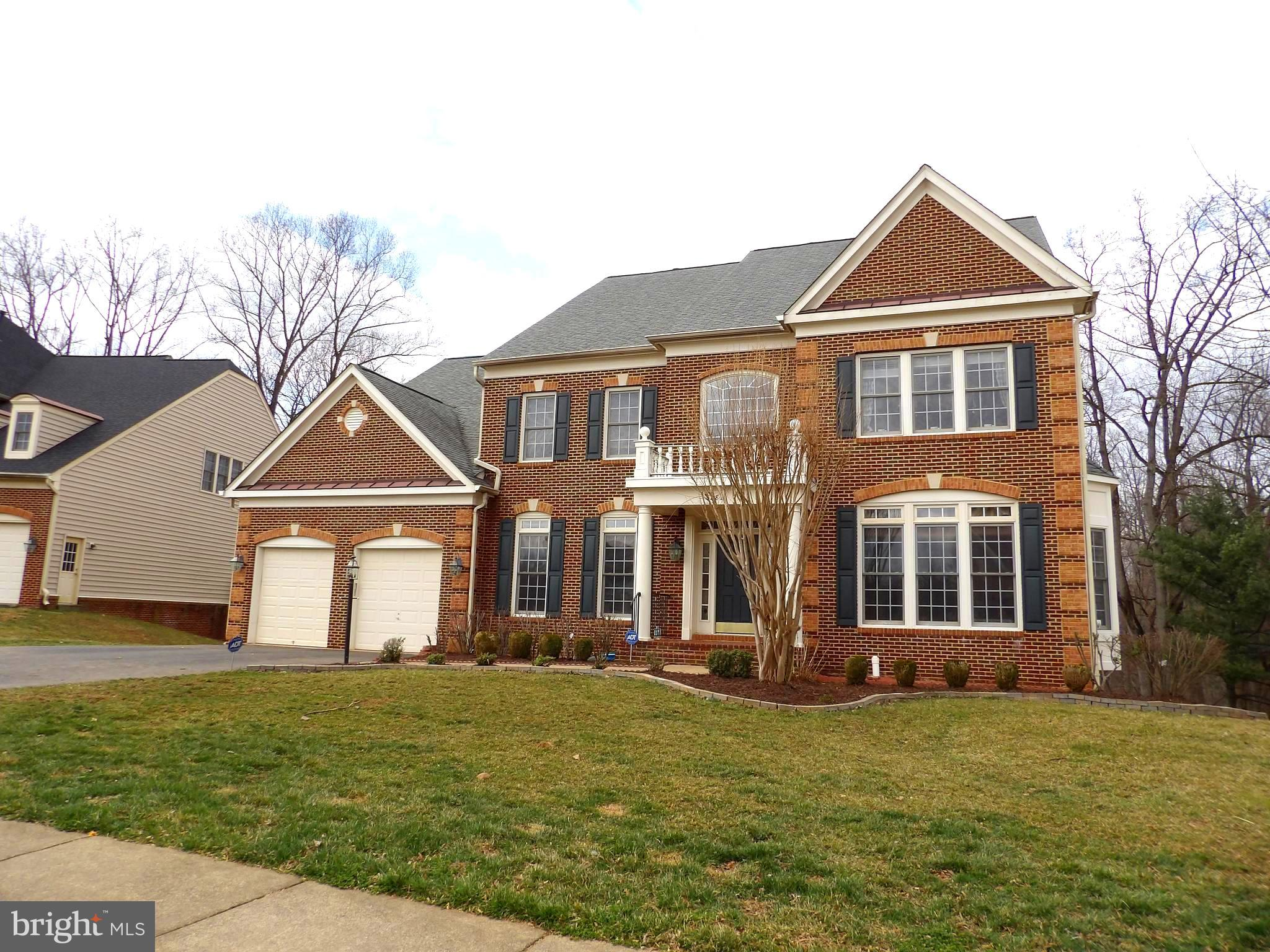 Luxurious Home w/ 10' ceiling.   Close to Rt 29, Fairfax Cty PKWY, & I-66.   Fair Oaks Mall, Costco & Shopping Center are close by.   Two Staircases, Gourmet Kitchen w/ Gas cook top, SS Appliances, Double Oven, Granite Ctr Top & Big Granite island.    Fabulous Master suite w/ LUX Bath. Sitting area, Balcony.   Large W/O basement w/  Huge Recreation Room w/ the wet bar,  Additional two rooms.    Maintenance Free Deck.   Premium Lot  w/ view of  trees and Pond.  Large Laundry & Work room on the main floor w/ Half Bath.   New Carpet.   Enjoy the sunset from the balcon and the deck!