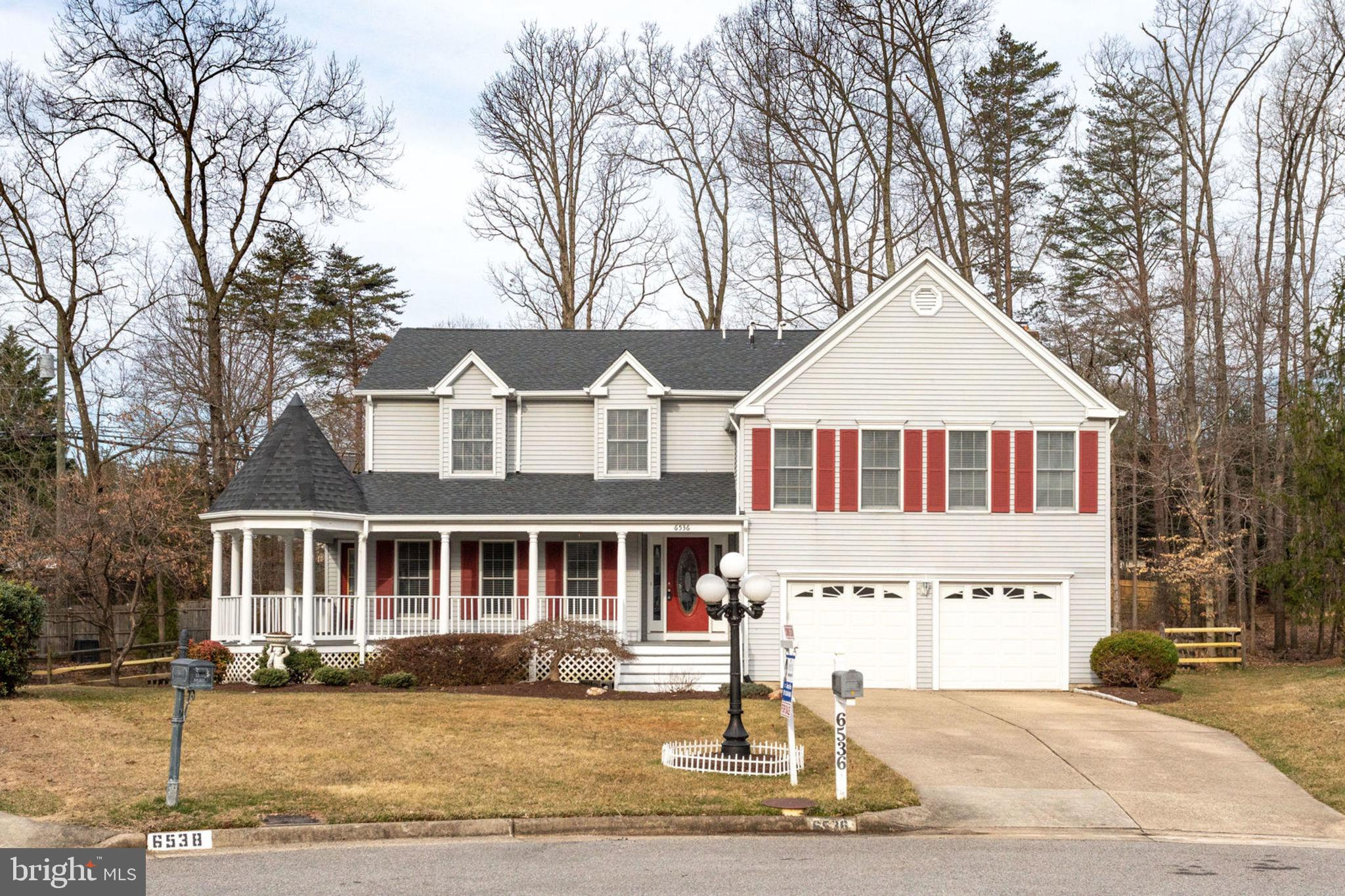 "Original owner well maintained/Renovated Home. Excellent location close to VRE, parks, library, dining, shopping & more! Highly rated Lake Braddock school pyramid. Gleaming hardwood floors on Main Level. Kitchen w/Unique Red Brick Gourmet features with Rage Food, 42"" Cherry Cabinets, Stainless appliances, granite counter tops, breakfast area & more. Family room w/wood fireplace & exit to Back yard deck. Big size dining room exit to the French deck in Front Side. Finished Lower level with Den, Upper-level home to large MBR w/vaulted ceiling, 1 Sitting room, 1 Library. Large ClosetCommunity Amenities 6536 NOVAK WOODS CT BURKE, VA 22015 This 3,183 square foot house sits on a 16,489 square foot lot and features 5 bedrooms and 2.5 bathrooms. This property was built in 1986. , Nearby schools include Nativity Catholic School, White Oaks Elementary School, and Lake Braddock secondary middle school, high school  School. The closest grocery stores are Safeway, Shoppers and Hmart Burke. Nearby coffee shops include McDonald's, Kung Fu Tea and Starbucks. Nearby restaurants include Glory Days Grill, Beijing Tokyo, and Domino's Pizza. 6536 NOVAK WOODS CT BURKE, VA 22015is near Rolling Valley West Park, Burke Ridge Park, and Cherry Run Park. 1. Beautifully Updated Master and Hall bath March  2019,2. Designer Paint Colors Whole House March 20193. New carpets whole hose March 2019,4. New 2"" Wood Faux Blind w/out  String March  2019 ,5. New washer/Dryer March 2019 ,6. New Roof Nov 2018  7. Refrigerator March   2018 8. Induction Cooktop Oct 2018, 9. Dishwasher Dec 2018,10. Backyard Deck  Oct 2016,11. Double wall oven-New kitchen cabinet, floor 2011, 12. Basement wt  Den  2002, 13. HVAC New condensing unit 2010  Heating New Air Handler 1F/2017, 2F/ 2013 ,Hot water tank -2010 14. Sump Pump 1.Sump Pump 2, Stand by Sump Pump ,New Garage 2door 2015"