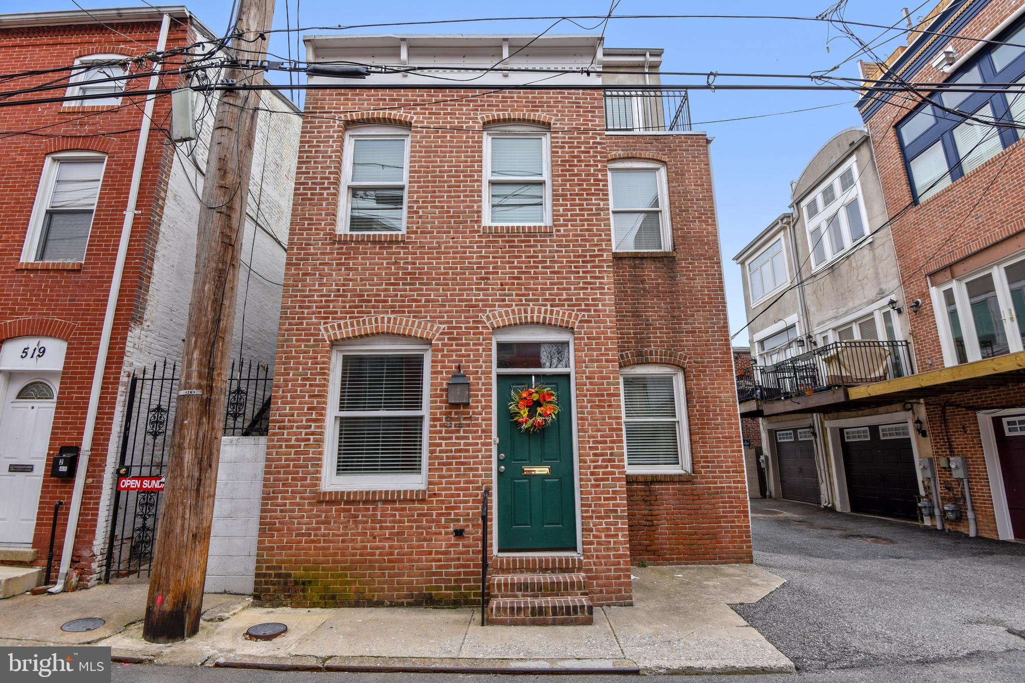 521 S REGESTER STREET, BALTIMORE, MD 21231