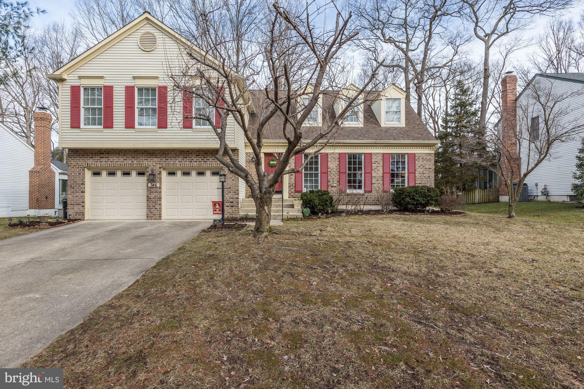 746 ROCK ELM COURT, MILLERSVILLE, MD 21108
