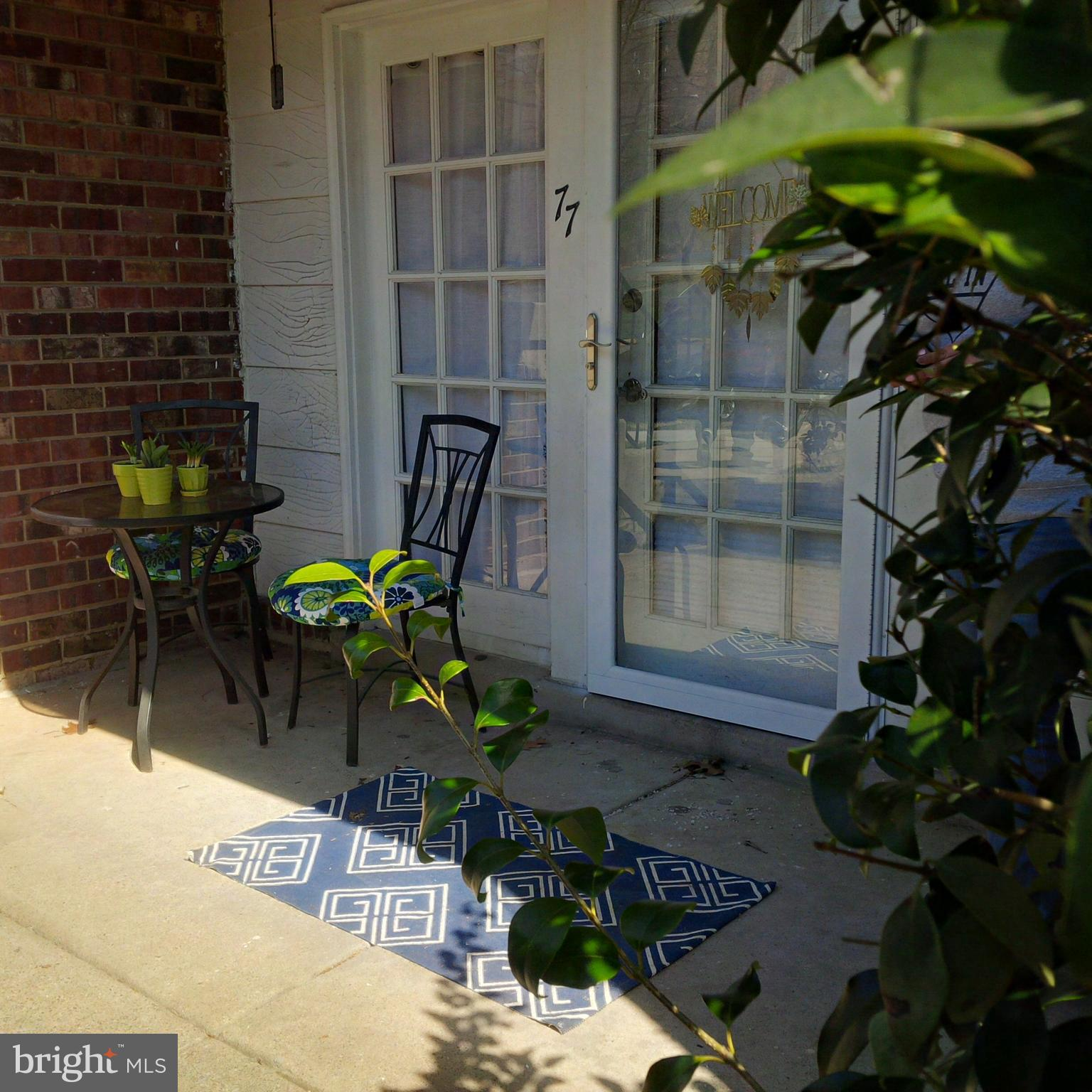 Steps to the beautiful Occoquan River...Tasteful, High- End Renovation. Gleaming hard wood floors.  New carpeting in bedrooms.  Walk to River, Old Town Occoquan, Restaurants, Shopping. Great I95 or Rt1 commute. Ground floor private patio entrance. Outdoor Pool and Tennis. Outstanding! Must See.