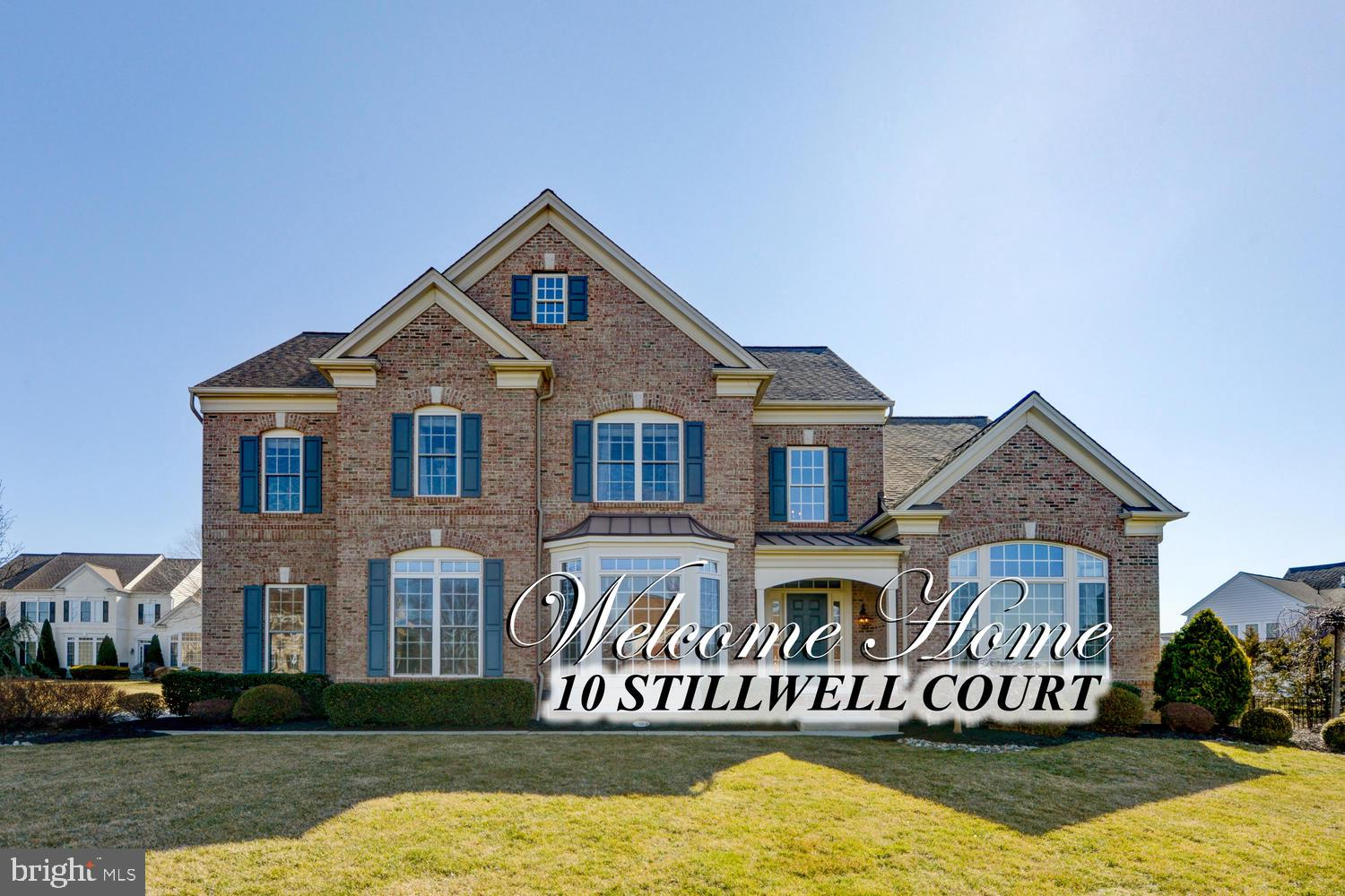10 STILLWELL COURT, ROBBINSVILLE, NJ 08691