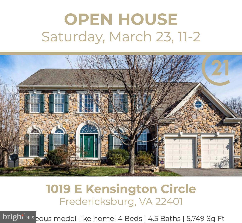 1019 E KENSINGTON CIRCLE, FREDERICKSBURG, VA 22401