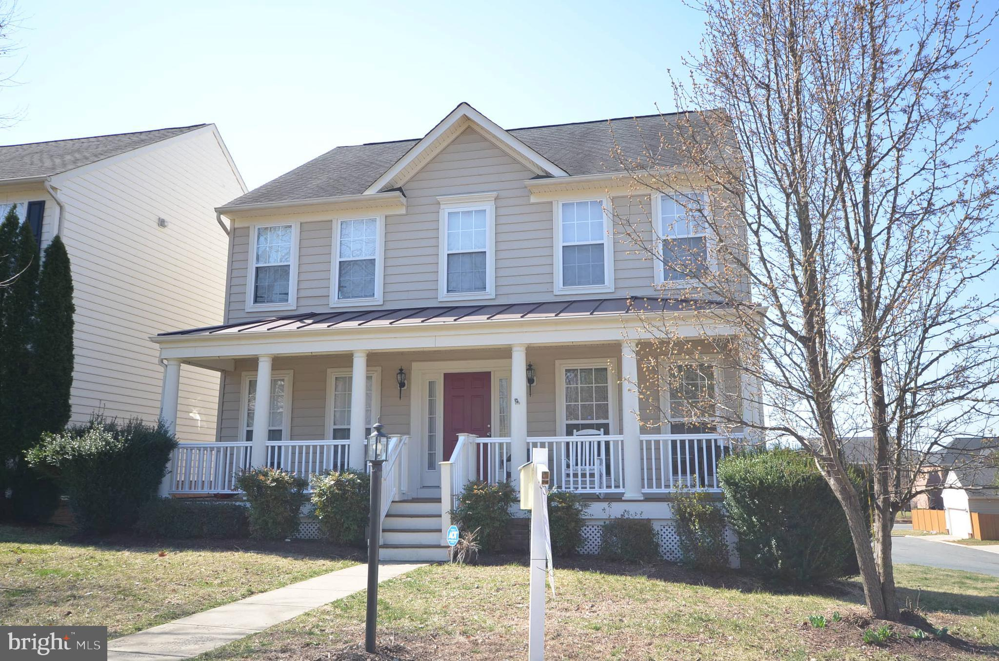 5Br, 3.5BA, appx 3,200sf Rare walk out basement! Melville Model w/ 20K Front Porch Option! Lot Premium-15k-View Trees Plus Oversized Corner Lot-Must See! See Fence Plans. Gourmet Kitchen-Loaded-Eternal Black Granite! Lower Level Au-Pair/In-Law Suite-Rec room, Legal BR, Full BA +Bright Walk-out + Extra Windows! Hard to find-no thru Street w/ TONS-Street Parking! Year-Round-Indoor -Pool!