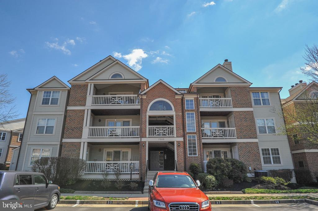 Welcome to 7505 Ashby Lane, unit D, a delightful Abbott model condo located in desirable Kingstowne.  This inviting property has a stylish open floor plan with beautiful hardwood floors throughout.  The many oversized windows flood the space in natural light.  This home has been freshly painted and features a relaxing fireplace with built-ins.  Step out and unwind on the spacious balcony located just off the living room.  Ideally located, this residence is close to all the exclusive Kingstowne amenities and is a short drive from popular Wegmans, two Town Centers, Metro and Old Town Alexandria.