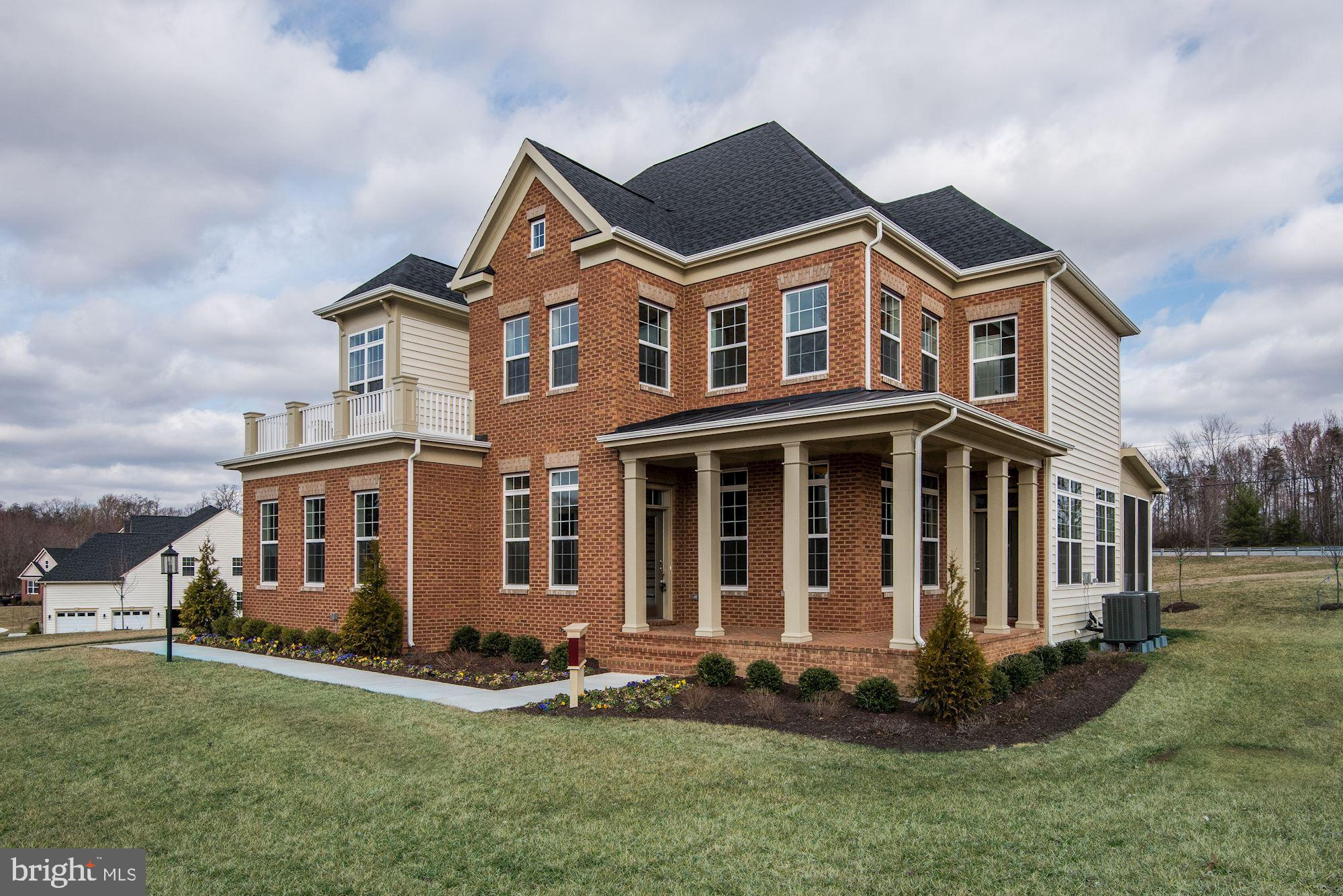 NEW CONSTRUCTION: MADISON 4 BR, 4.5 BA: 2 Car Side Entry Garage, 6ft. Portico Porch w/Return, Oak Stairs, Double-sided FP in Great Room &Study, Screened Back Porch, 10ft. Ceilings on 1st Flr, 9ft. Ceilings on 2nd &LL Flrs, Kitchen w/ GE Stainless Steel Appliace Package, Areaway in Basement, Finished Rec Rm w/Wet Bar, Game Room &Full Bath, Energy Saver Package