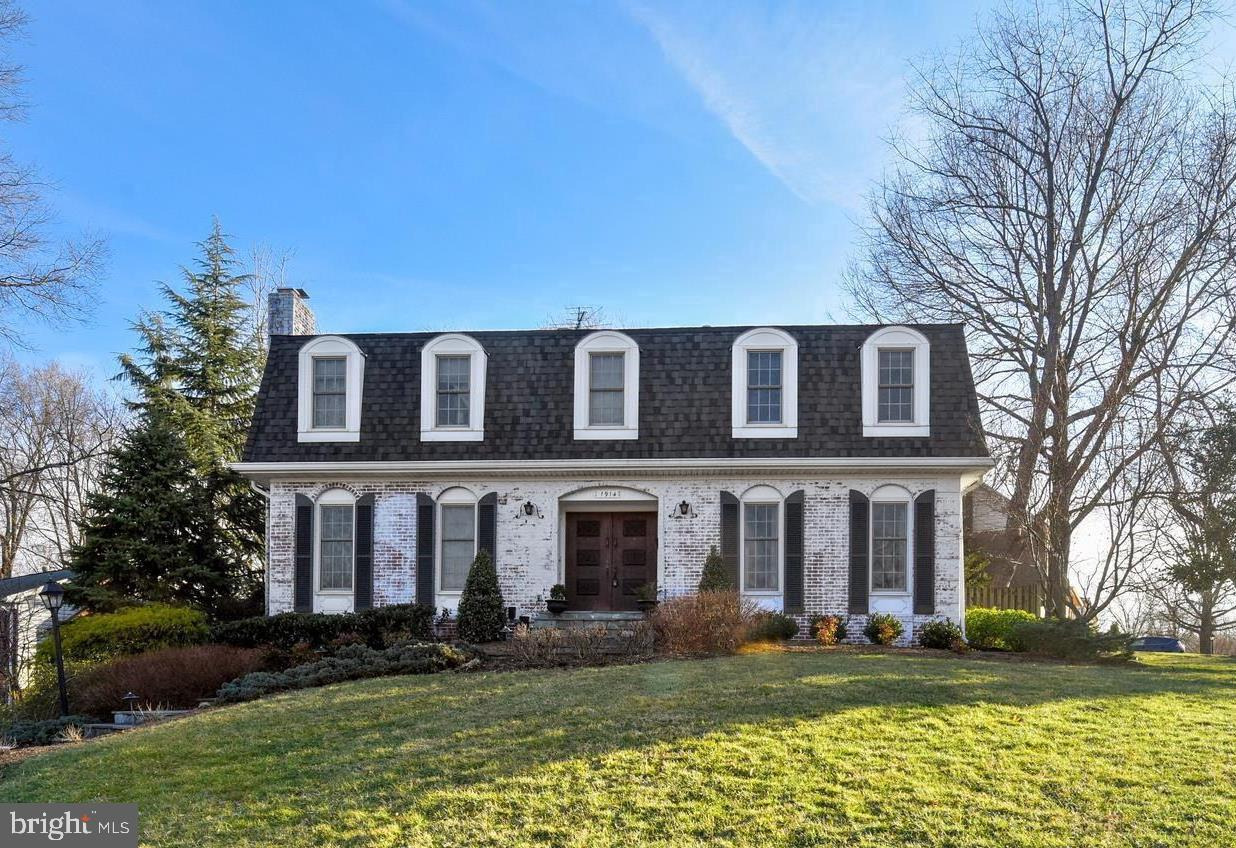 OFFERS DUE MONDAY 3/25 at 5 PM. Unparalleled quality at this price. This handsome Dutch Colonial has been meticulously upgraded by it's current owners. Enter through the grand two story foyer with curved staircase, double closets and entertainment access to the living room and dining room. Large living room has wood burning fireplace and French doors to the rear patio. Formal dining room is perfect for large gatherings and features crown and chair rail moldings. Stunning chef's kitchen high-end cabinetry with inset doors, 6 burner Wolf range, built in refrigerator and wine fridge. Timeless style and thoughtful design combine to make this the hub of the home. Note the pocket doors that allow you to use the dining room as both a formal space or informal one.  Main level den could easily be a 5th bedroom with adjacent full bath and cozy fireplace. Upstairs, you will find 4 generous bedrooms with built-ins and charming features such as angled ceilings and window seats. Master bedroom has a large-walk in closet, romantic fireplace and large master bathroom with tub and shower. Recently renovated hall bath will take your breath away. Marble basket weave tile, inset dual vanities, and thoughtful storage combine to provide a little luxury for everyone in the family. Laundry is also conveniently located on the bedroom level. The basement offers plenty of room for recreation with it's stained concrete flooring, a large sitting area and room for a pool table. This level also has a powder and large storage room with access to the rear yard.  A short distance from major commuting routes, like I-495, this home is also close to a number of community amenities including the GW Recreation Center, dog park, several neighborhood pools and the GW Parkway with it's 40+ miles of trails and stunning vistas of the water. Be in Old Town Alexandria in less than 7 minutes. You will not want to miss this