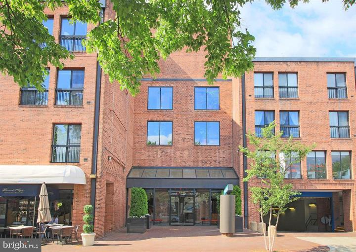 Madelon Condominium - Prime Georgetown location. This sought-after Duplex has quality upgrades. Open gourmet Kitchen features abundant cabinetry, stainless steel Bosch and Liebher appliances, gas cooktop, marble countertop and an eat-in bar.  The main floor boasts wall to wall glass french doors and hardwood floors which opens to a large balcony, suitable for entertaining. The main floor also has a convenient powder room, and laundry closet with storage. The upper level has two bedrooms with good closet space and two full bathrooms. Enjoy warm days on the FABULOUS ROOF TOP POOL AND DECK/ equipped with potted plantings, large wet bar, gas grille and plenty of lounge/dining chairs/tables. PANORAMIC VIEWS OF DC AND VIRGINIA.   Seller will pay rental parking for 2 years.