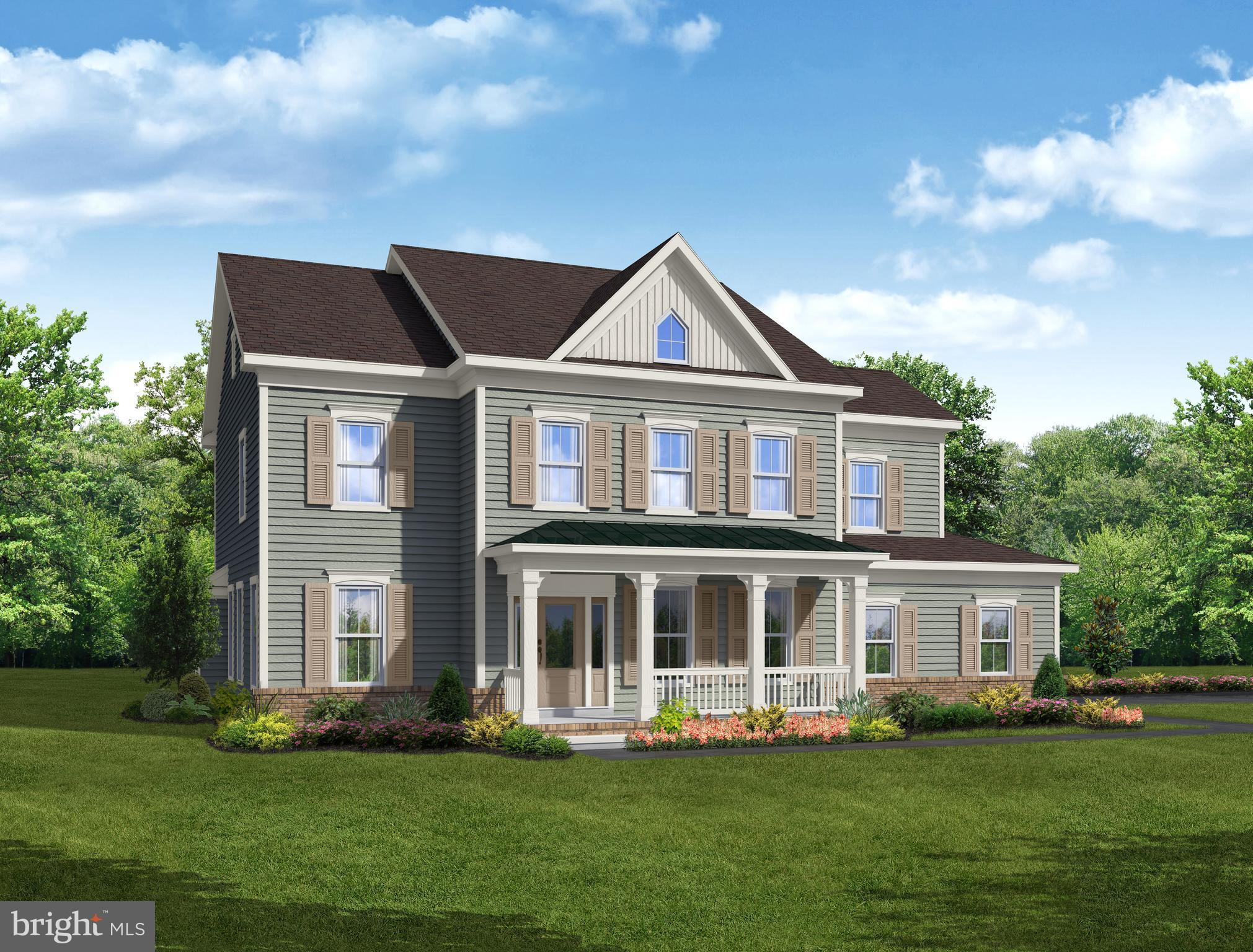 Our Carter Presidential Series Model. 4 bedrooms, 2.5 bathrooms, 3166 square feet standard. Options include 6' family room extension, sunroom, inlaw suite, owners luxury bath, 3 car garage and finished basement. Starting from $436,900. This is a to be built home. Please visit Bayberryhomes.com to view interactive floorplan.