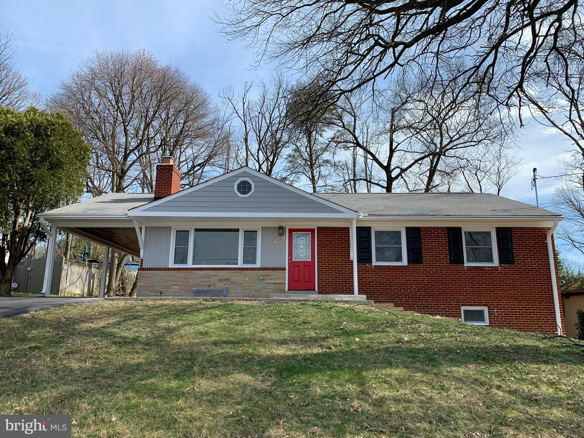 2007 FOREST HILL DRIVE, SILVER SPRING, MD 20903
