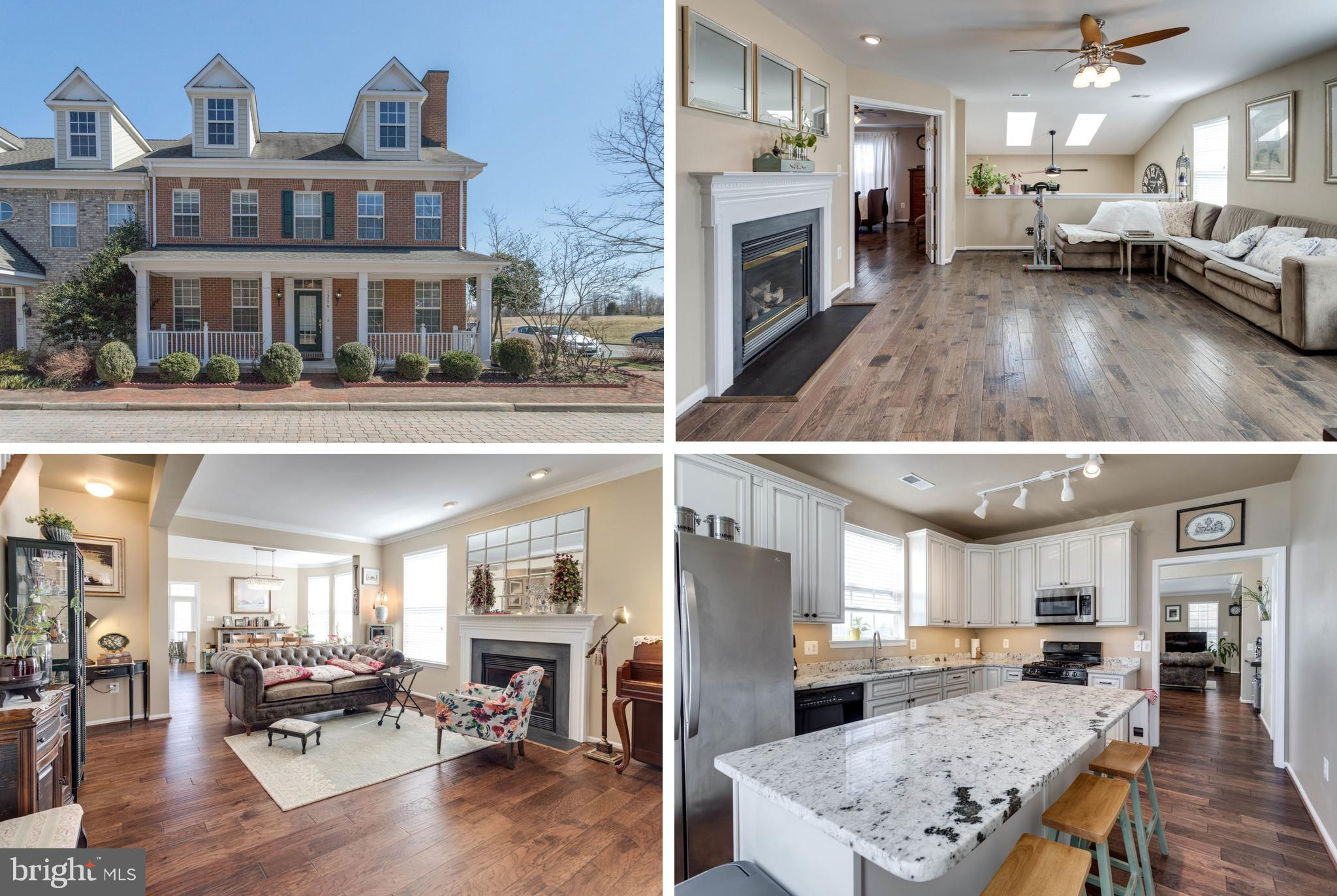 Belmont Town Center/Belmont Bay-Upscale Waterfront Community*Beautifully Remodeled Duplex w/Nice Patio*Feels Like Single Family Home*4 BRs+3.5 Baths (2 Master Suites)*1st Floor has 2nd Master BR (18x12) w/Own Lux Bath(Tub & Shower) & Walk-in Closet*Upper Level has Master BR (19x14) w/Tray Ceiling, Walk-in Closet, Luxury Bath (Tub & Shower), plus 2 more Large BRs, Family Room w/2nd Gas Fpl*6 Ceiling Fans*Skylights*Recessed Lights*ALL top of the line Wood Flooring*Remodeled Kitchen w/Granite, Large Island, Skylights, SS Appliances-walkout to Nice Patio. 2 Story Foyer*2 Car Garage and Plenty of Unassigned Parkings around the property*Truly Move-in Ready*Must See Home!