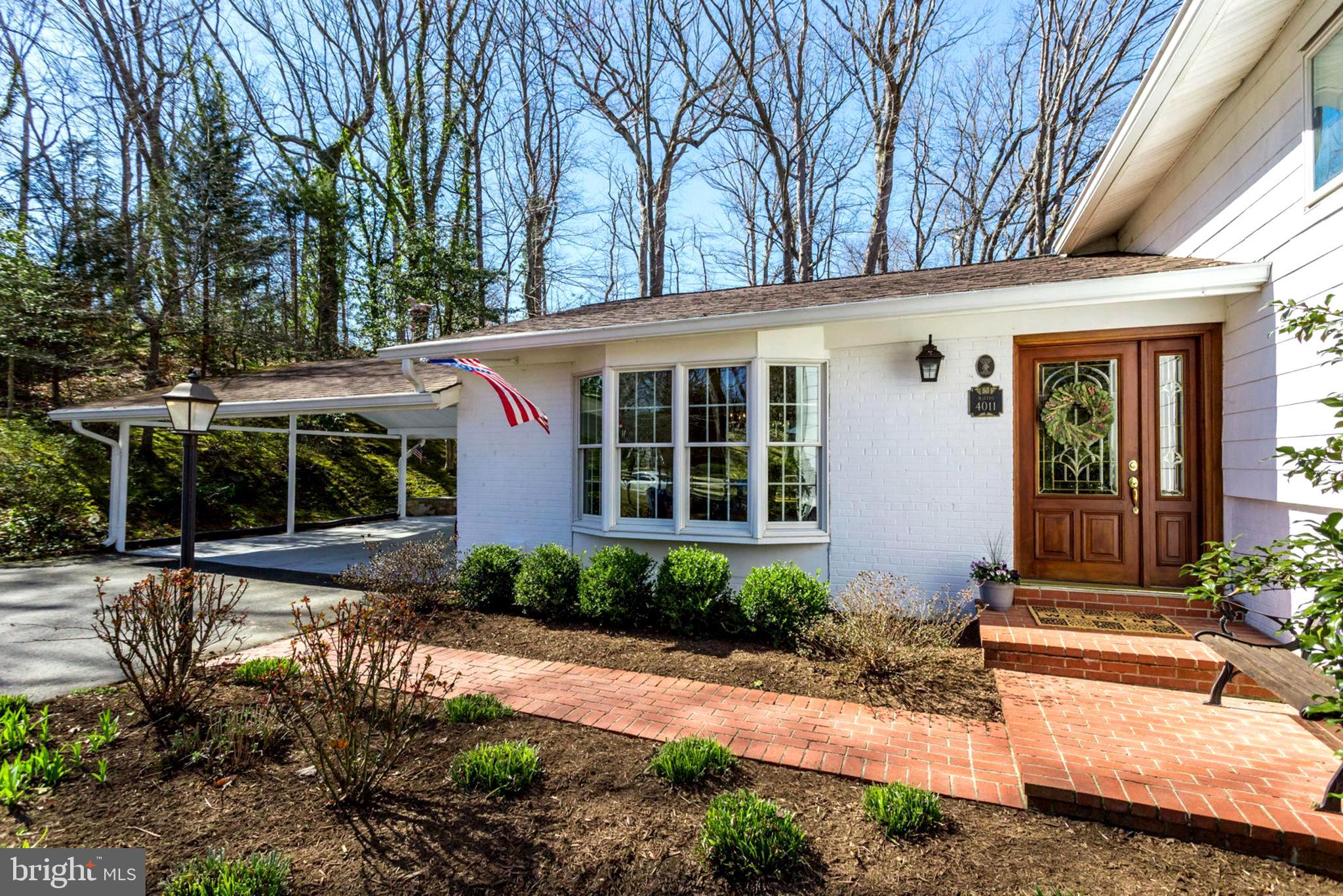 AGENTS: ALL OFFERS MUST BE SUBMITTED BY     SUNDAY  3/31/19  5pm.                                                            This is a true Virginia oasis that embodies the fun of entertaining and the great outdoors. This 4 bedroom, 3 baths on 1.5 acres is tucked away on a cul-de-sac in bustling Alexandria. This property has everything a nature- loving individual could want all year long. From the multi-level deck where you can host your friends on summer nights to the screened in gazebo where you can privately enjoy your summer nights listening to the stream that runs on the edge of the property. The appreciation for the outdoors and entertaining isn~t just limited to the warm months though. This home features newly renovated windows and a sunroom that lets you enjoy Virginia winters from the coziness of your home. Getting cozy in this home is easy, with the 2 fireplaces. You will want to share this view with all your friends! Entertaining friends and family, alike is easy with the refinished hardwood floors, stainless steel appliances and the freshly painted walls further extenuates this homes ability to bring people together. Starting the night off with divine meals in the dining room to moving the party to the family room to enjoy a game night with those you care about. Family and friends that are local or far can make their way to enjoy your piece of oasis with it being 12 miles to national airport and minutes away from Fort Belvoir military base.