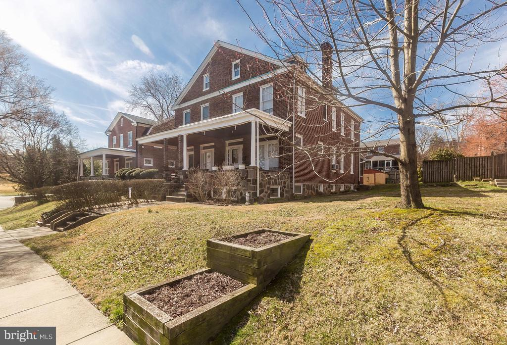 """Price reduction! Rarely available all brick 4 bedroom 2 bath duplex in desirable Mayfield. Formal Living Room and Dining Room with hardwood floors and quality mill work. 3 bedrooms on second floor and 4th bedroom loft on 3rd floor. Full finished basement. The April 2019 issue of Baltimore Magazine rated Mayfield on of the Best Places to Live! Steps to Herring Run Park, Clifton Park and Lake Montebello! Come see this beauty in the """"Hamlet in the Heart of Town""""."""