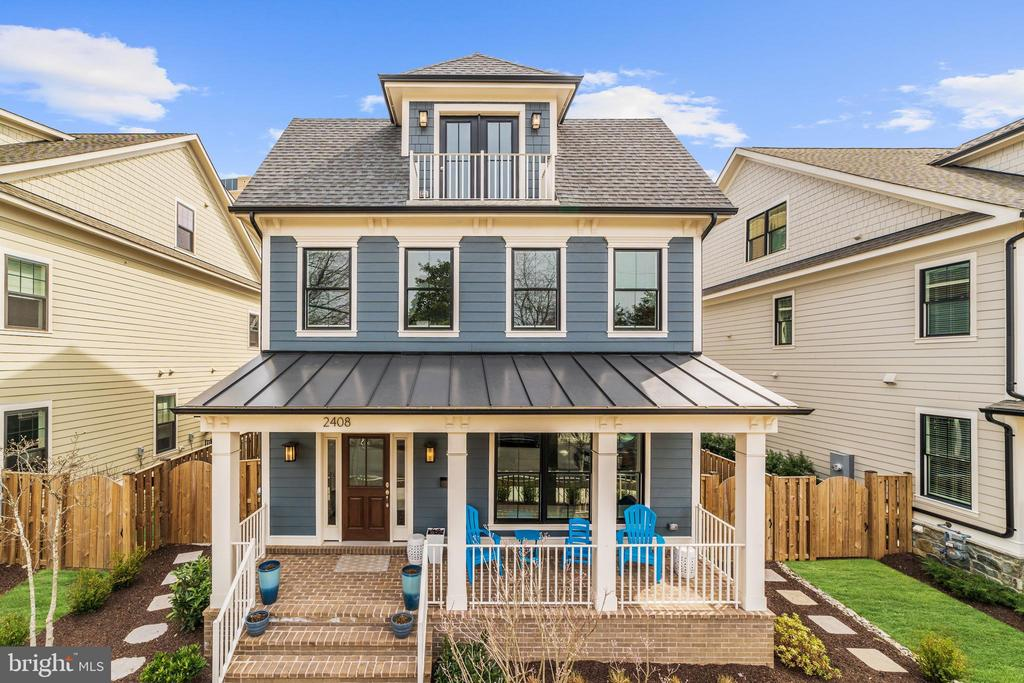Unparalleled home in ideal Lyon Village location (less than 1,000 feet to Metro, .3 mile to Whole Foods).  Builder's personal residence with exquisite features throughout the contemporary floorplan.
