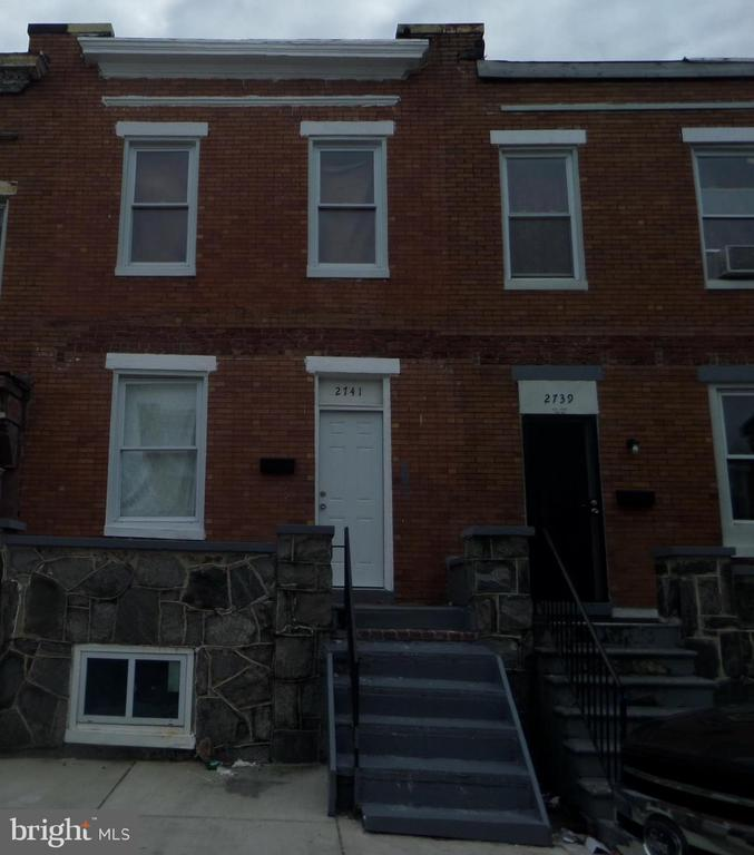 PERFECT PROPERTY TO ADD TO YOUR RENTAL PORTFOLIO!  This 3 bedroom, 1 bath home has been fully renovated and has a tenant in place.  Home has been maintained by a property management company.  This property can be purchased separately on in a block with 20 other properties.  For additional photos go to http://www.section8baltimore.net/2741chase.html.  Buyer to verify ground rent.  Seller will not redeem.  Being sold as-is.