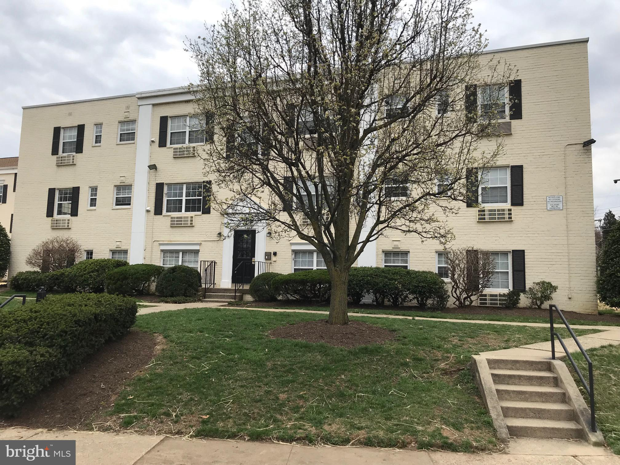 Property is Eligible for Freddie Mac First Look Initiative, for Home Buyers and Non-Profits Until 4/20/19. Seller will not complete any repairs to the subject property, either lender or buyer requested. The property is sold in AS IS condition. Property is a1BR/1BA condo located within walking distance to Huntington Metro Station. Ground floor unit. Property in need of repairs. All Utilities Included in Condo Fees