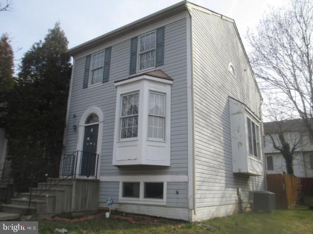Rehab Ready!  This semi-detached town house is ready for your top-to-bottom renovation.  This home offers 3 levels, lights from 3 sides, and large rear deck.  Property needs extensive repairs and has significant mold.