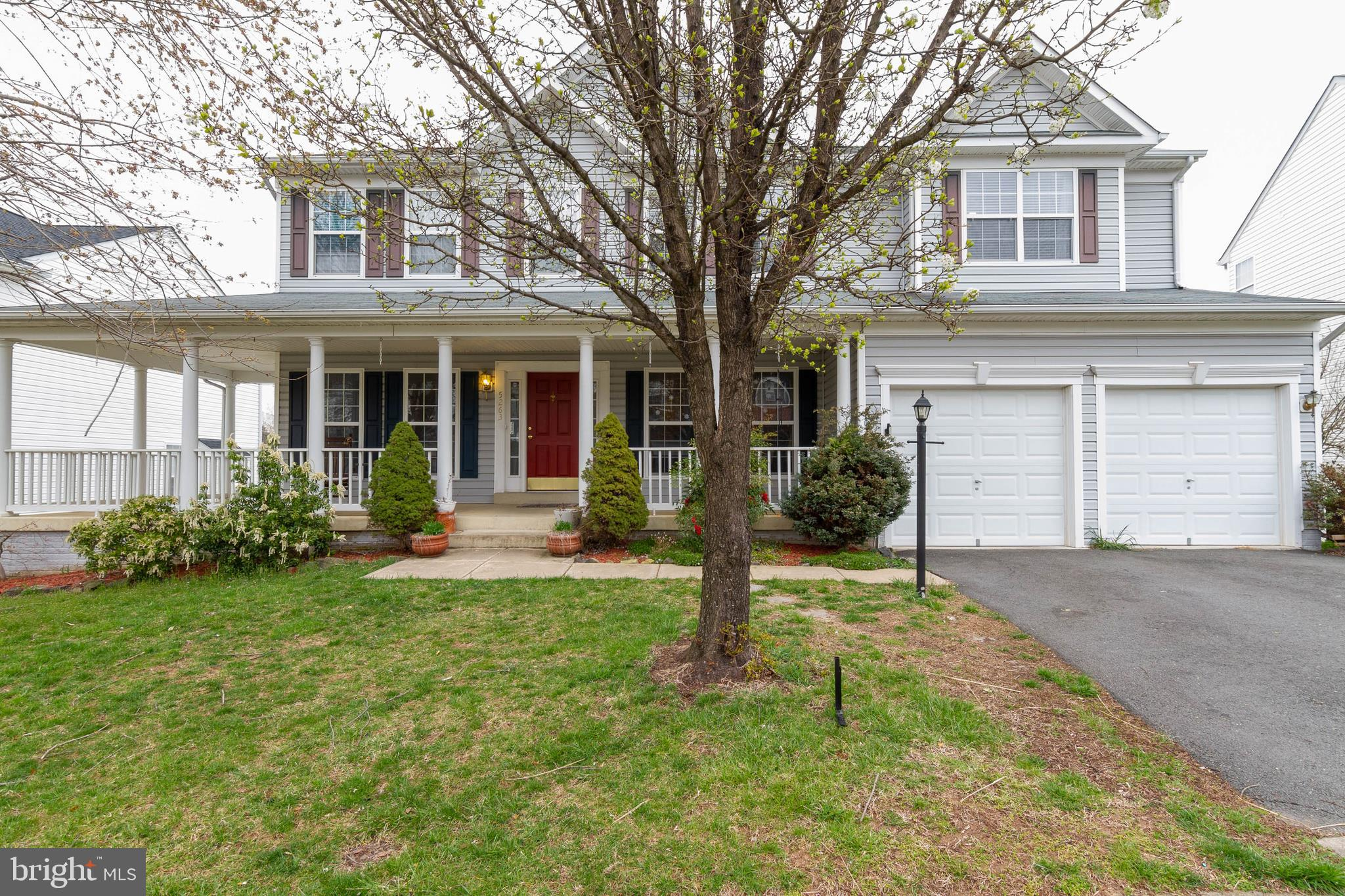 PRICE IMPROVEMENT! Large single family home with two car garage in Lake Terrapin.  House backs up to lake and is just up the street from the community pool.  Features three finished levels, deck, walkout basement, and large front porch.  Convenient to shopping, schools, and commuting options