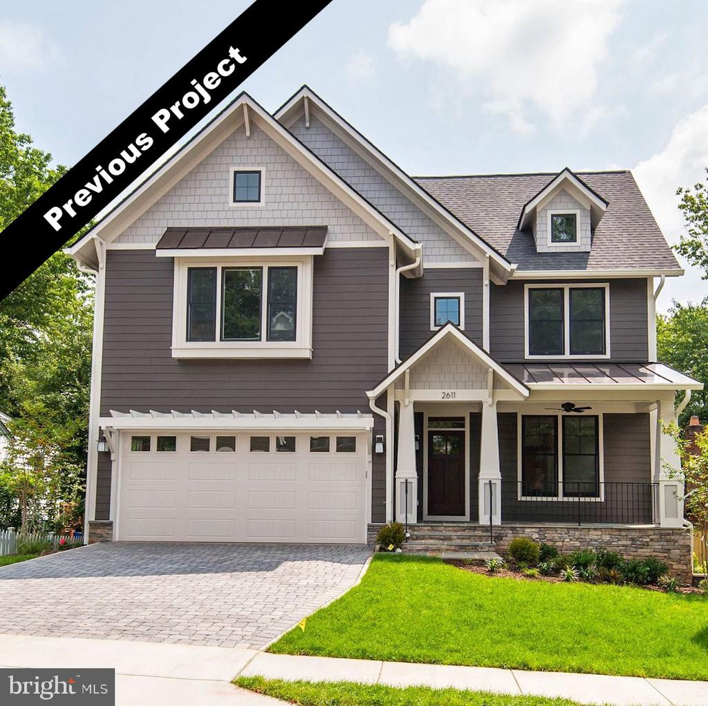 **NEW CONSTRUCTION** New craftsman home built by sought after local builder, Zimmermann Homes. 6 Bedroom, 5 full bathrooms.   Short walk to Haycock Elementary, Longfellow Middle, and minutes to McLean High.  Home includes green features, smart home products and energy efficiency throughout!  Quality workmanship & design, thoughtful and inviting floor plan & high end finishes make this a rare find.    Main level bedroom with full bath and a tucked away playroom/office. Flex Room on the 2nd floor.   Master suite with luxurious oversized shower. Lower level features large media and rec rooms and an exercise room. Large deck off the dining area for entertaining!.  *Photos of similar completed project, floor plan and finishes may vary*  July Delivery!