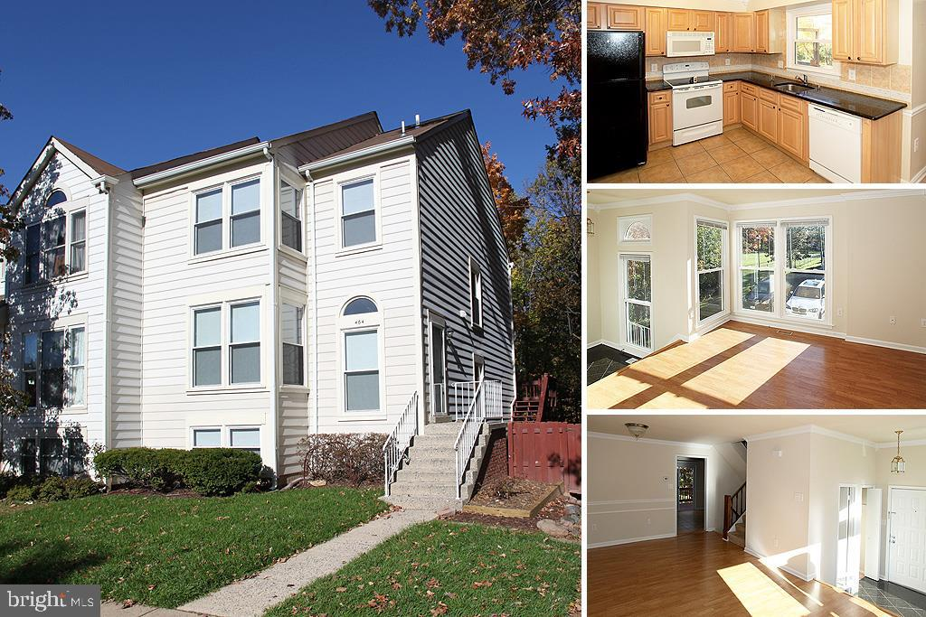 Beautiful end unit TH next to Historic Herndon. Lots of windows and light throughout. Backs to woods with wonderful deck. Fenced backyard - walkout from lower level. Newer updated kitchen and newer appliances. Pics from before current tenant. Available about 6/10/21. Sorry - pets not permitted. No smoking in the home. All adults must apply and be on the lease. $45/applicant app fee.