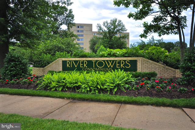 NEW PRICE!!!  Move-in ready condo waiting for you to make it your home.  Spacious and newly renovated turn-key condo! This 3-bed / 2-bath 1396 sq foot River Tower condo is tastefully appointed and timelessly style to afford any buyer the satisfaction of pride in ownership. This condo has large oversized windows that allow for picturesque views To the West and North. Newly refinished hardwood floors run throughout the entire living space and stand in contrast with the freshly painted walls and wainscoting. The kitchen has new stainless steel appliances, under cabinet lighting and floor to ceiling pantry cabinets. *** ALL UTILITIES ARE INCLUDED***. Some notable amenities to include ample parking, a pool, tennis courts, private gardens to grow flowers and vegetables, ~s play area, walking grounds, in close proximity to a full-service shopping center, on-site bus service to the metro, in-building salon and more. This location is just minutes away from the new Amazon HQ headquarters, Old Town Alexandria, Ft Belvoir and downtown DC. Do not miss your chance to own a great condo in a prime location!