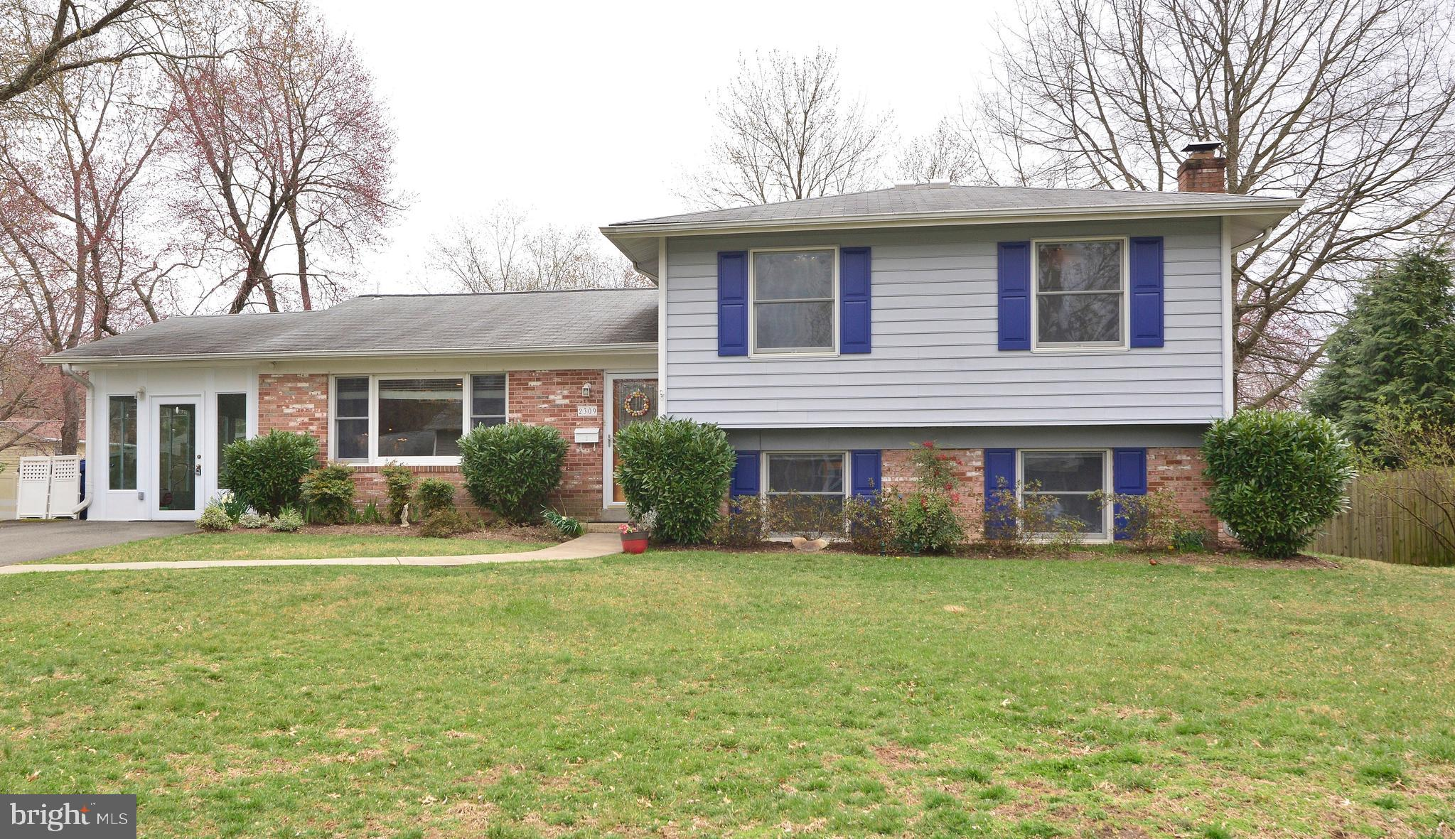 Awesome 5BR/2.5BA Home w/ Tons of Upgrades! Renov Eat-In Kit w/ Merillat cabs, granite, glass tile backsplash, SS applncs! Gorgeous Refin Hrdwds! HVAC '19. Fresh paint, extra insulation, Andersen windows. Daylight LL rec rm w/ FP! Great workshop area & storage. Sunroom opens to huge patio & fenced backyard! Stratford Elem! Great neighborhood just blocks to library, parks, hospital. Mins to Ft Belvoir, GW Parkway, National Landing, Pentagon, DC!