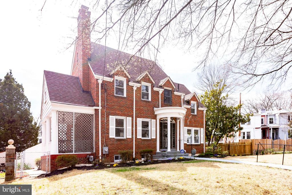 Gorgeous renovation of this beautiful, all brick, single family home in Brookland/Michigan Park/Catholic University area. All new systems, marble gourmet chef's kitchen, open floor plan, 3 spacious bedrooms, 3 full baths. Convenient to metro with detached single car garage with alley access.