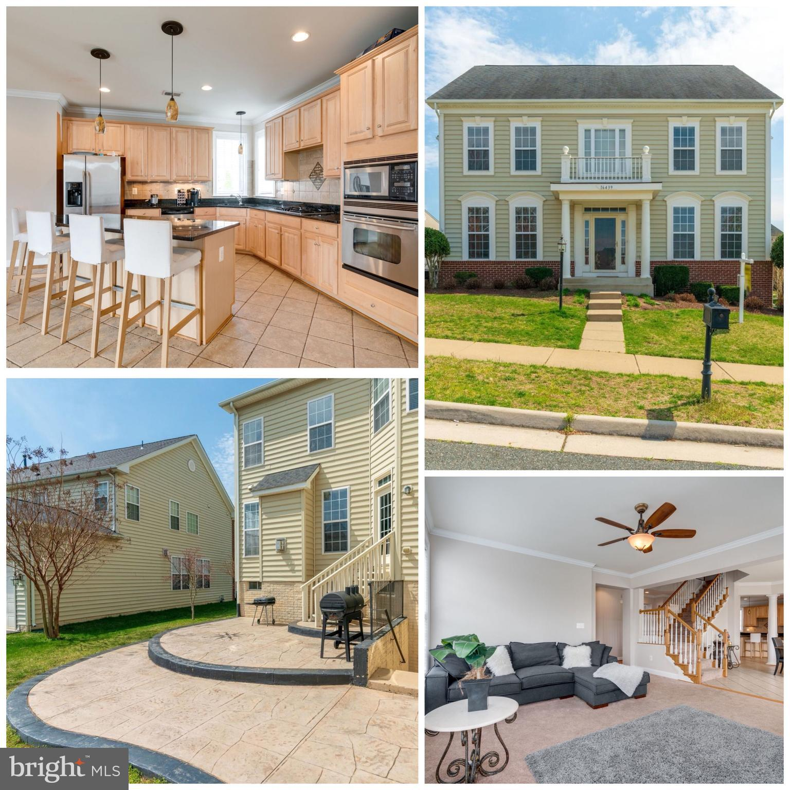 WOW, What a Price for this Elegant & Spacious home in sought after community, Port Potomac! You will appreciate what this fabulous 5600+ Sqft Home has to offer. Fall in love with the Gourmet Kitchen suitable for any chef who loves cooking for family or friends! Relax in Master bedroom w/ tray ceiling & sitting room. You will get the Spa experience when you're in your luxury bathroom.   Dine or entertain guests on your back patio! The entire home is Freshly painted with Crowne Moldings throughout, SS appliances, granite, cooktop, and maple cabinets, in-ground sprinkler system- all the bells and whistles these former owners thought of it ALL- WOW!!>>PP is sought after community with indoor/outdoor pools, fitness center clubhouse, tot lots, soccer field, multi-purpose court, tennis courts, and a dog park. commuter close, everything you need is here, Don't miss this one!!