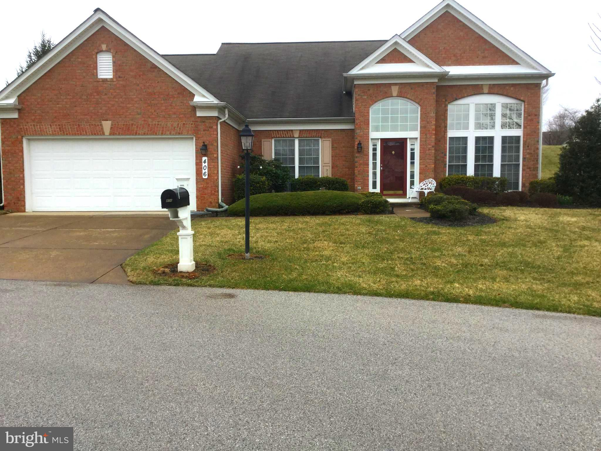 406 HIGH EARLS ROAD, WESTMINSTER, MD 21158