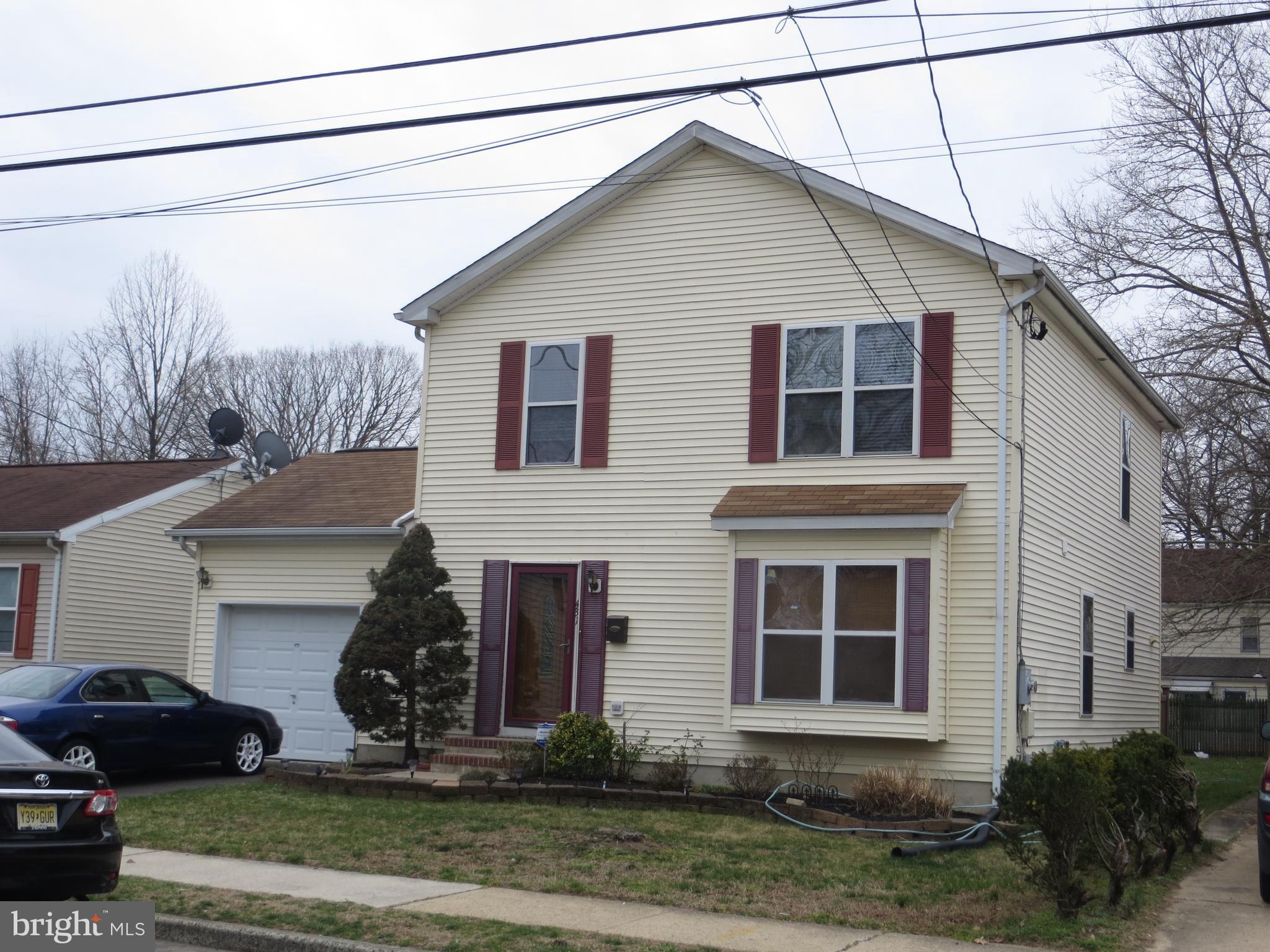 431 CONNECTICUT AVENUE, HAMILTON, NJ 08629