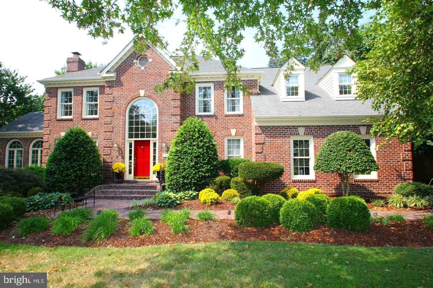 Truly Beautiful, Georgian Style Center Hall Colonial in Sought after Belle Rive, a Premier Waterfront Community in Mt. Vernon. This 5BR, 4.5 Bath, 5600+ square foot home Will Not disappoint. Beautifully Landscaped .50 acre lot with in-ground pool and charming pool house. Where to begin with this Lovely home~. The Location AMAZING, The Size HUGE, The Workmanship SUPERB.  This Beautiful Home is an original Genuario Custom Home set on one of the Original Farms of Mt. Vernon with 5 Large Bedrooms and 4.5 fully updated Bathrooms.  You~ll enter into the Grand 2 Story Foyer with Beautiful Curved Staircase, Custom Marble Floor, and Attractive Woodwork.  Formal living room has Transom Windows, Crown Molding, Gas Fireplace with Marble Surround & Beautiful Mantle, and Hard Wood Floors. The Formal Dining Room has Tray Ceiling, Beautiful Wood Working and Hardwood Floors. A Butler~s Pantry will lead you to the Gourmet Eat-In Kitchen with Granite Countertops, High-end Stainless Appliances, Gas Downdraft Cook Top, Hardwood Floors, and Subway Tiled Backsplash. Kitchen has Open views to the 2-story Family Room with Gorgeous Stone Front Wood Burning Fireplace and oversized Palladium Windows. The Main Level additionally has a Stately Office/Den with Custom Built-Ins, and what might be my Favorite Room~. A light filled Sun Room / Bonus Room with floor to ceiling Palladium Windows and French Doors leading to your Private Deck overlooking the Sparkling Pool complete with Charming Pool House.  The Sun Room is finished with New Custom Shenandoah Plantation Shutters.  Upstairs you will find the Large Master Retreat complete with 2 Walk-In Closets, Sitting Area, Cathedral Ceiling, and Beautiful Windows with Plantation Shutters.  The Master Bath has 2 Separate Upgraded Vanities, Large Soaking Tub, Separate Glass  & Tile Shower.  Don~t forget to check out the Linen Closet in the Master.  Upstairs has a  2nd Bedroom with Full Bathroom Ensuite. The large 3rd & 4th Bedrooms share a beautifully upd