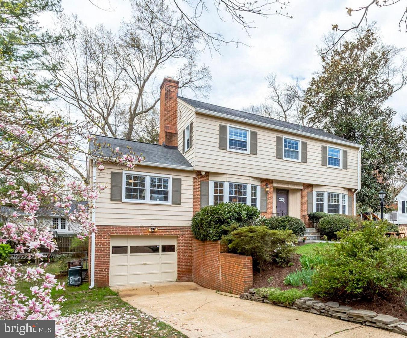 WAYNEWOOD!!! Rarely available beautifully updated center hall colonial home close to everything!! From the new flagstone path to the front door this bright 3 level home with hardwoods throughout is a must see. Gorgeously renovated kitchen with gas cooking. The deck (new 2018) off the kitchen built around an elegant magnolia tree offers view of beautiful sunsets. There are 4 bedrooms and 2 full baths upstairs. The home also features stairs to a full attic for easy and plentiful storage. The fully finished lower has a walkout and southern exposure that provides light all day long! With a full bathroom and walkout the 5th bedroom or office could easily be used as an au-pair suite. The fully fenced yard is huge with beautiful trees. You simply can't beat this location! Just around the corner is the GW Parkway bike path, turn right and in 3 miles you at Mount Vernon, the home of George Washington. Turn left and 6 miles down the road you are in Old Town. This community developed in the 50's and 60's is a throw back to simpler times. The kids sand box is always filled with toys! Fort Hunt Park is just a few blocks away for great picnics and gatherings. Fort Hunt Athletic Association is a thriving organization for all youth sports which often practices at Waynewood Park and other local fields. The Waynewood Rec Center recently renovated their pool, and the clubhouse is in the final stages of a complete redo, as are the basketball courts. You've also got 3 full tennis courts with lights. Whether you drive or take advantage of the express bus to the metro, this a great location for commuting to DC, Tysons, Fort Belvoir, Pentagon and of course the new Amazon location in Crystal City! Don't wait to see this beautiful home! Open houses April 13th & 14th, 2-4pm.