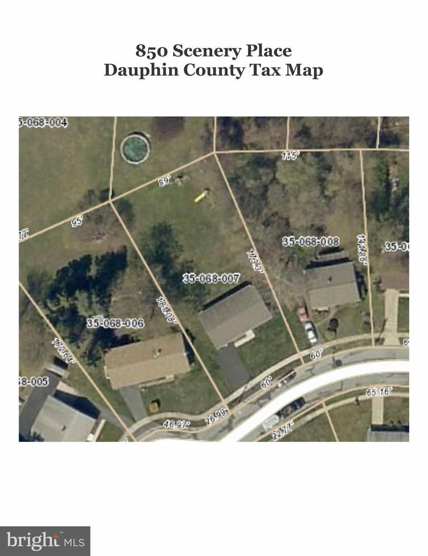 Dauphin County Tax Map on