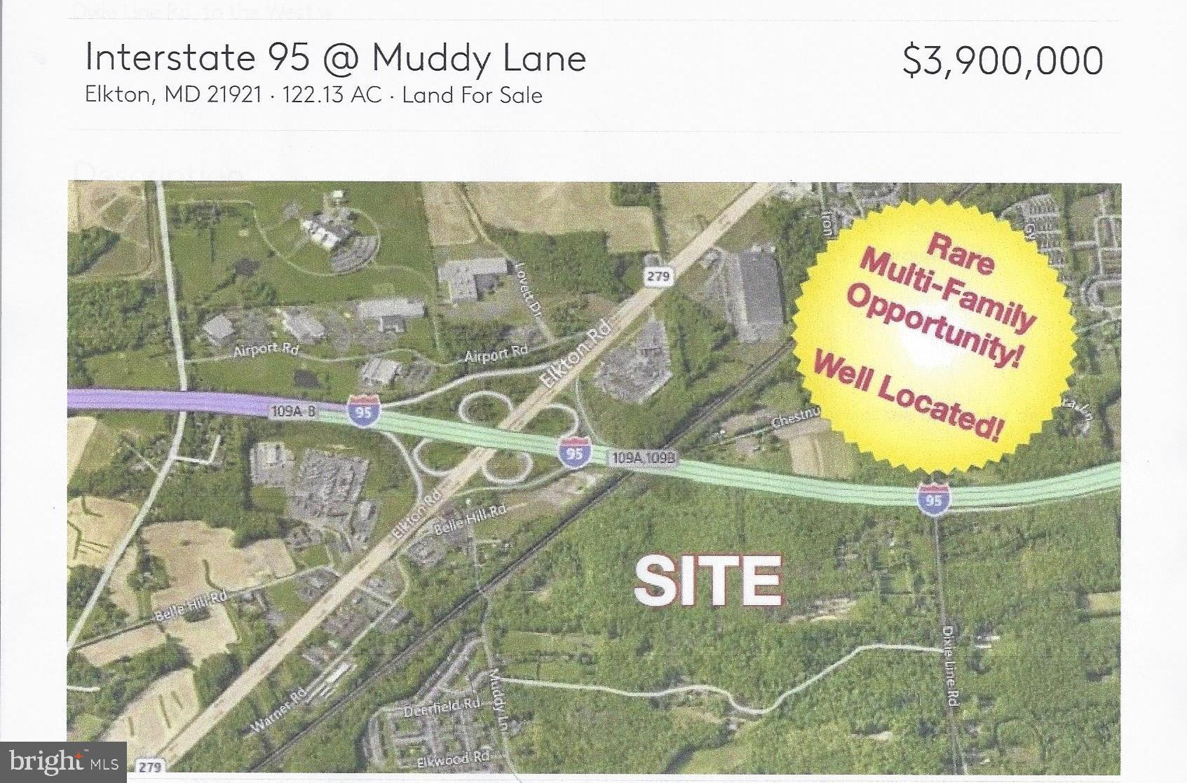 LOT #1, 110 ACRES MUDDY Ln, Elkton, MD, 21921