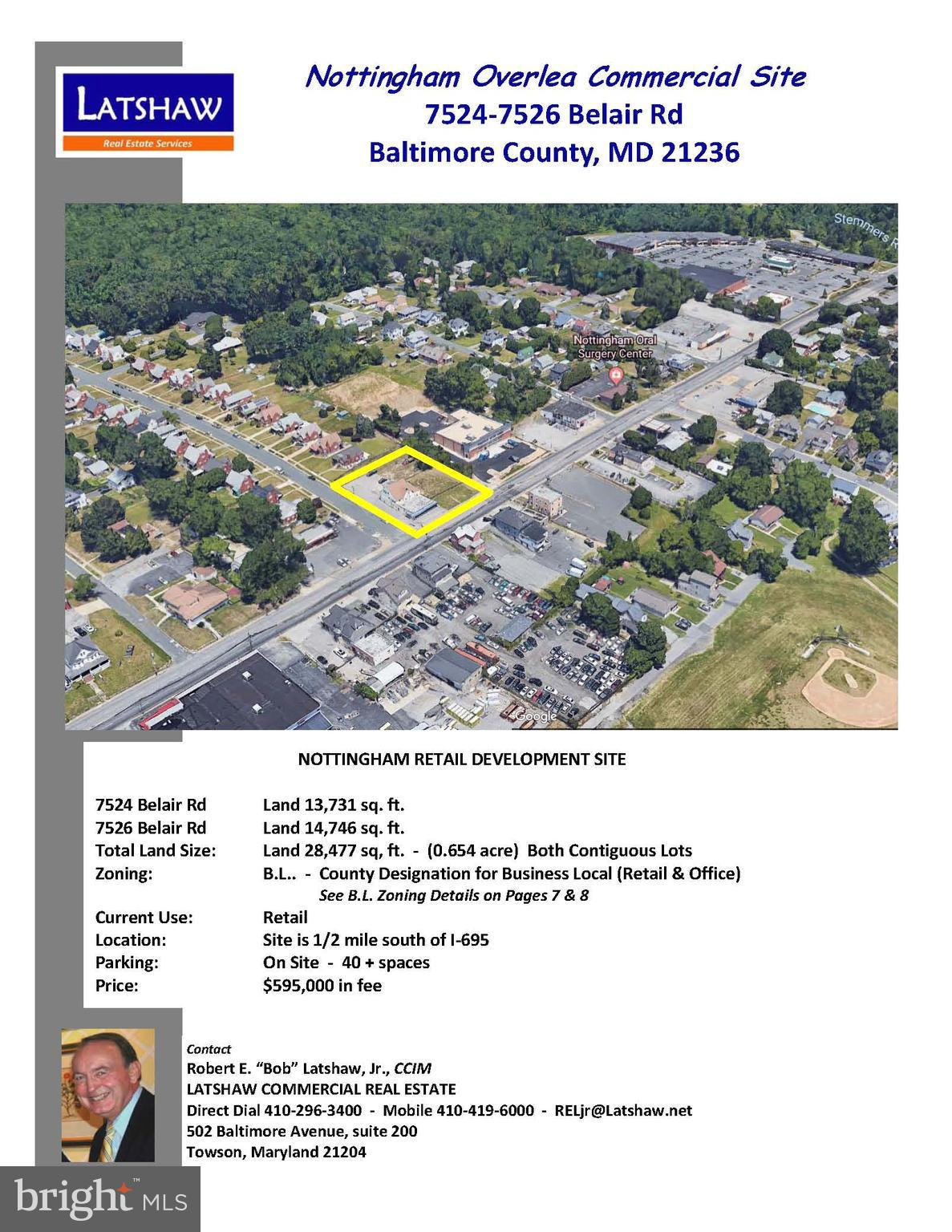 7524-7526 BELAIR ROAD, BALTIMORE, MD 21236