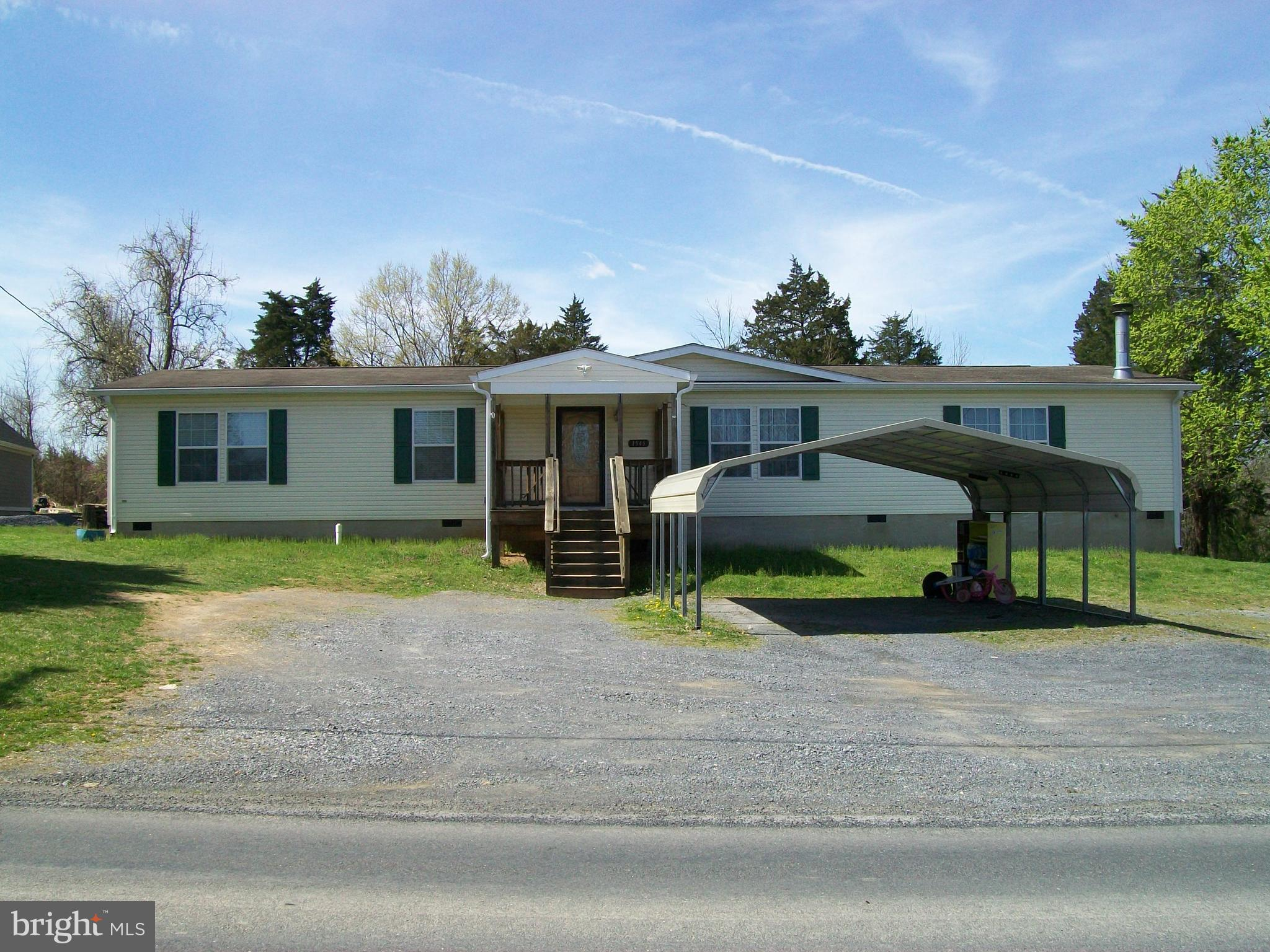 1545 HAHNS LANE, TOMS BROOK, VA 22660