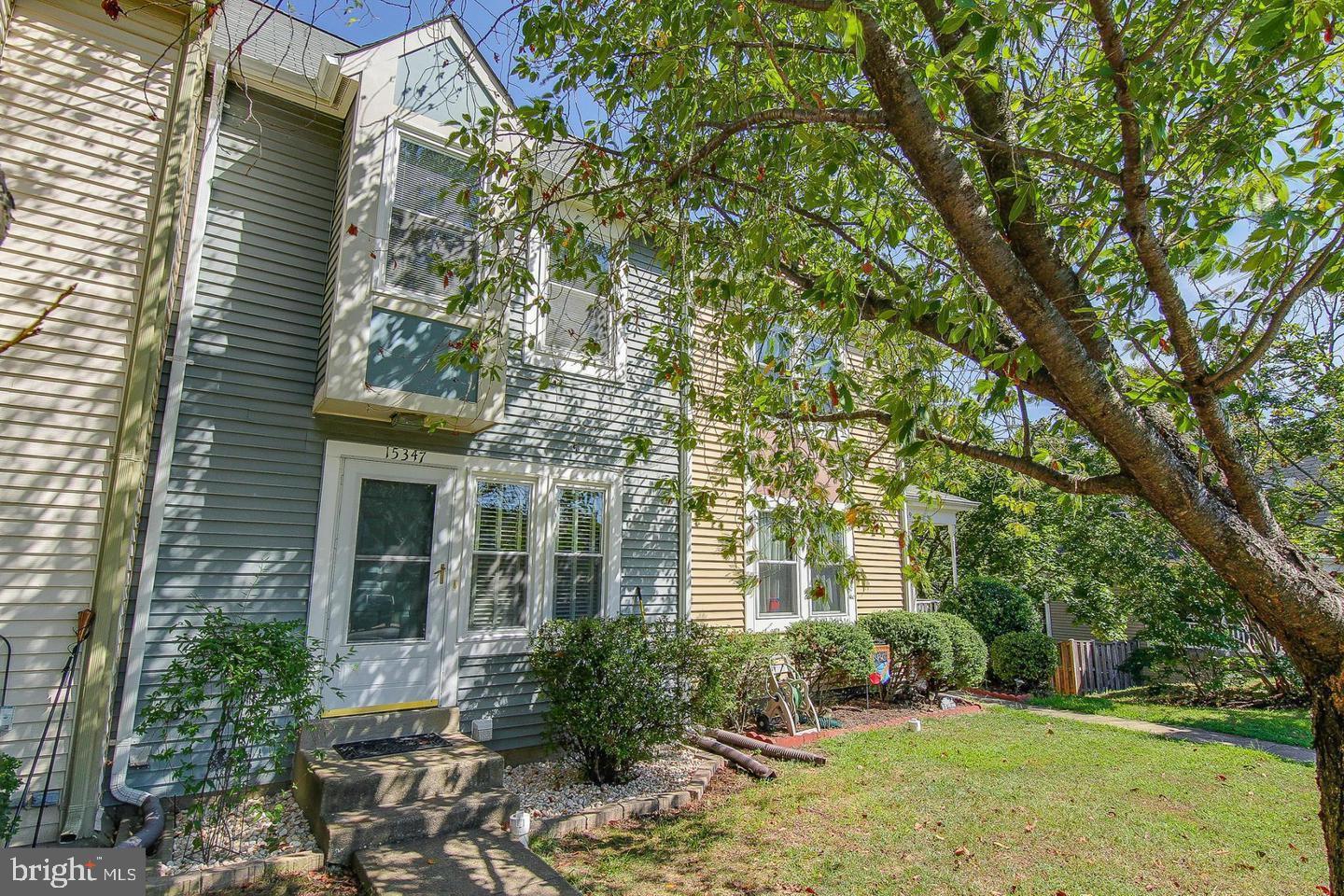 Beautiful well maintained townhome in a cul-de-sac, close to shopping, transportation, and more. This 2 bedroom, 2 full bath home features a beautiful kitchen with hardwood floors, stainless steel app., Silestone counters, upgraded oak cabinets, and huge pantry. Home has neutral paint, composite deck, french doors, fenced in back yard & patio, backs to woods, newer carpet & much more! A MUST SEE.   ALL OFFERS DUE BY MONDAY 4/29/19 @12:00 PM.
