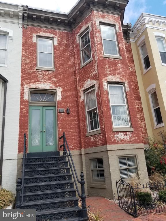 Hot investment property in Georgetown for anyone looking to live in one unit and rent two units or looking to rent all three units or maybe looking to redevelop the entire property into condos or a primary residence. This property has two car parking in the rear with an approved permit to build a two car garage. This is a rare property located smartly between the Georgetown Business District and DuPont Circle Business District. Totally vacant and ready for next owner's vision.