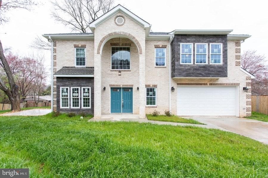 Assessed $881,000, Great deal. Located in the favorable Burgundy Manor neighborhood, towards the end of Janelle Street, it is here that you will find this one-of-a-kind masterpiece. THIS IS THE PLACE TO BE! 7.5 miles from the future East CoastAmazon Headquarters/HQ2 in Crystal City, 5 minutes to Huntington metro, Major Interstates, Fort Belvoir, Old Towne Alexandria &walking distance to Elementary School, and easy commute to DC. You deserve quiet and peace after a long day of work! This property is located at the horseshoe of a dead-end street, right behind LoftridgePark, the street has low car traffic, this street is walking and kids-friendly.2019 NEW BUILT HOME, custom designed and built as a ~transitional colonial~ embellished with classic and colonial lines. Finishing is beautiful brick and real stone, filled with the light, generous number of windows. Each room offers something different and unexpected, with your comfort in mind. Master bedroom has a 10~x10~ walk-in closet, gorgeous master bathroom with an in-wall toilet and air bubble tub in addition to standing rain shower. Each bedroom has its own bath and access. Other features: Smart door lock, garage door, heating cooling, can be accessed and controlled via phone. Basement level, 661 SQFT, has a full bedroom and full bath. It is your chance to own this work of art, designed for the future, Welcome to your new home!5542 JANELLE ST, ALEXANDRIA, VA 22303. FEATURES~ 3437 sq. foot finished (Not including Garage and basement)~ Garage is 388 SQFT enough for two cars~ 661 SQFT finished walkout basement with one bedroom,and a full bath~ 5 Total bathrooms (4 suites with its own bathroom)~ 5 Full baths~ 1 half bath~ Master bath has modern hidden lights, heated floor, real marble stone walls, tutu in wall toilet, two sinks, rain shower, Bluetooth speaker and water bubble luxury bath~ 10x10~ custom built-in closet, with pull shoe racks and laundry bags.~ Quart counter tops with hand-crafted kitchen backsplash~ SS prem