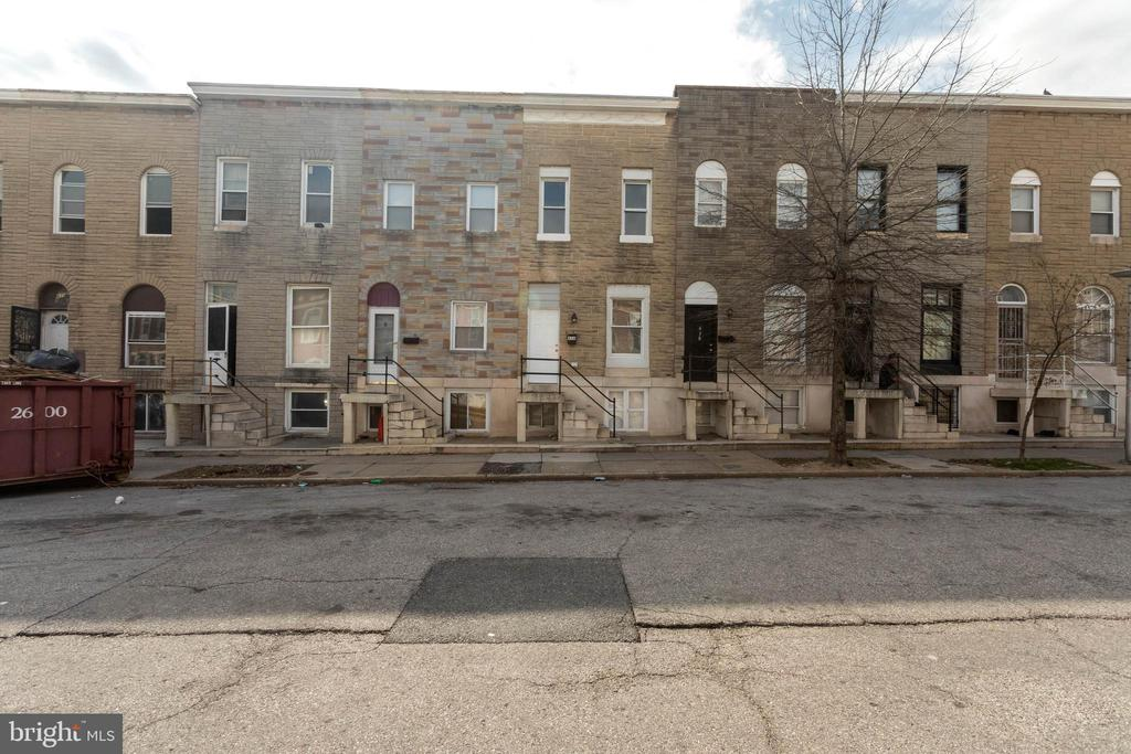 Charming and central row home just a walk away from Patterson Park! Lots of natural light flows through this 3 bedrooms 1 bathroom home. Hardwood floors throughout main level, freshly painter and new carpet! Great opportunity to buy and hold for some passive income!