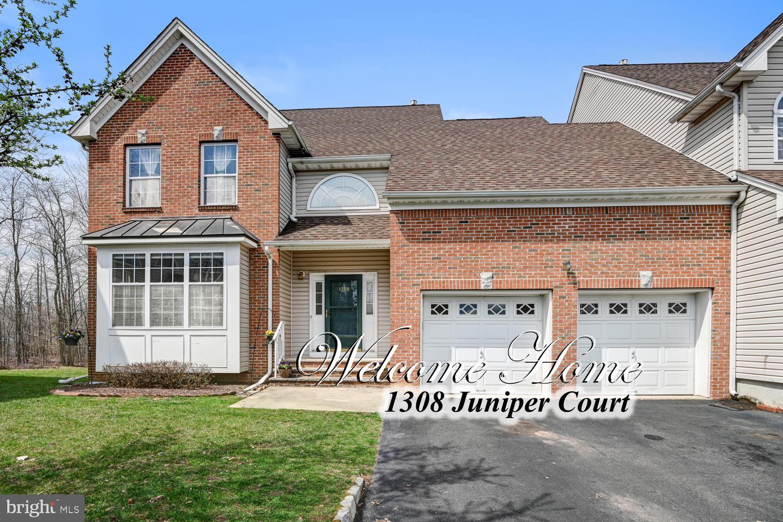 1308 JUNIPER COURT, NORTH BRUNSWICK, NJ 08902