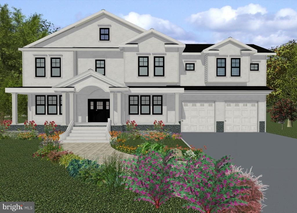 "Luxurious new home being built on a deep 11,000+ sq ft lot  with over 7,200 sq ' of beautifully designed space in Bethesda~s English Village neighborhood by award winning Bethesda Too, with details & features not often found in other similarly priced homes.  High quality finishes and built ins are found throughout the home, including built in features in the Dining room, Study, Family room, Mudroom  and all closets, 22 kw ""whole house"" Generac generator and irrigation system.  PLEASE NOTE: All pictures are from recently built Bethesda Too Homes. The main floor includes: Leaded and beveled glass transom in entry to Dining room from foyer plus built in glass shelving on each side of the box bay window. Study with paneled walls, 8' tall glass french doors, and built in window seat 20' x 18' Kitchen  with 5' x 8' island, 48"" Subzero refrigerator, Wolf gas rangetop and microwave, 2 extra quiet Bosch dishwashers, wine cooler, silverware, spice inserts, glass front cabinet doors and large walk in pantryKitchen opens to the Family room with unique ceiling, 12' of built in cabinetry and shelving on either side of  the gas fireplace w/ stone surround from floor to ceiling. Breakfast room has glass french doors leading to the three season Screened porch and deck that have Consumer Reports highest rated composite flooring. Large mudroom with walk in closet, 8' long bench and cubbies and shiplap walls. Powder room on main floor with mirrored vanity. Elegant curved stairs leading to 2nd floor. On the second floor you will find: Marble Master bath with two toilet rooms, heated flooring, heated towel bar, stand alone tub on raised platform, oversized shower with body sprays and rain shower head and second linen closet. Master bedroom with 10' high double step up ceiling, gas fireplace, sitting room/second study and dressing room with triple angled wall mirrors Two room-sized closets with ""wall of shoes,"" vanity table and bureaus. Three more unusually large bedrooms on the 2nd floor, each with separate bathrooms, playrooms and walk in closets. Laundry room with pull out ironing center. Lower level includes Wet bar with cabinetry, full size refrigerator with icemaker and 3rd Bosch dishwasher. Theater room with tiered seating. Powder room on lower level is perfect for guests to the theater and recreation room. Fifth bedroom with walk in closet, full bath, game closet, bonus room and two storage rooms also on lower level"