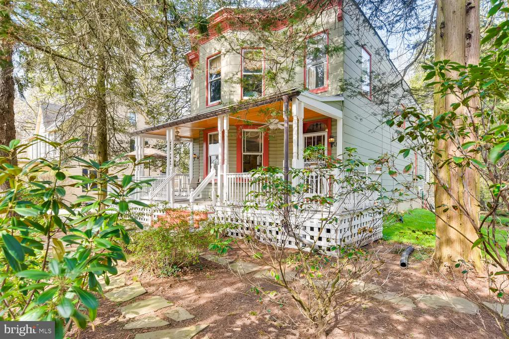 PRICE IMPROVEMENT--This is the one you have talked about and have been waiting for ~ 6210 Haddon Avenue~this beautiful Victorian style w/ wrap around porch and huge back yard is privately sited on a 1/2 acre lot. Walk to Eddies and Starbucks~ 4 BR, 3 1/2 baths with over 2500 above grade sq ft. and an improved basement of another 1300 sq. ft. Enjoy the feeling of being in the country, while in this most convenient and sought after location. The owners have meticulously worked to keep the integrity of this home. While there are many upgrades, you are still in touch with original charm and style. **Please see owner's remarks in documents section for complete details.  Main level bedroom with full bath.  Three upper level bedrooms with 2 more full baths, a large updated kitchen with Corian counters, Stainless steel appliances and breakfast room (with heated floor) and separate laundry area. The large garage can be a wonderful workshop as it is wired for both 110 and 220v electric. Located on a charming street of Victorian and cottage homes ~ you will love coming home every day!